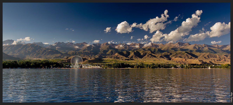 горы, киргизия, свобода, облака, восход, путь, выбор, море, озеро, вода, иссык-куль, Vitaliy Rage