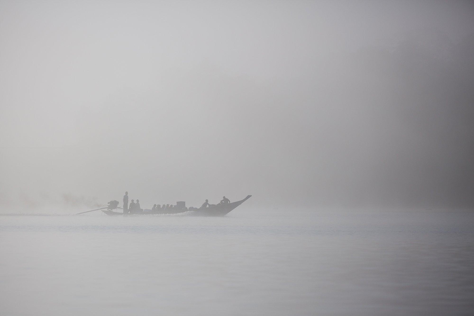 таиланд, озеро, чео лан, лодка, Николай