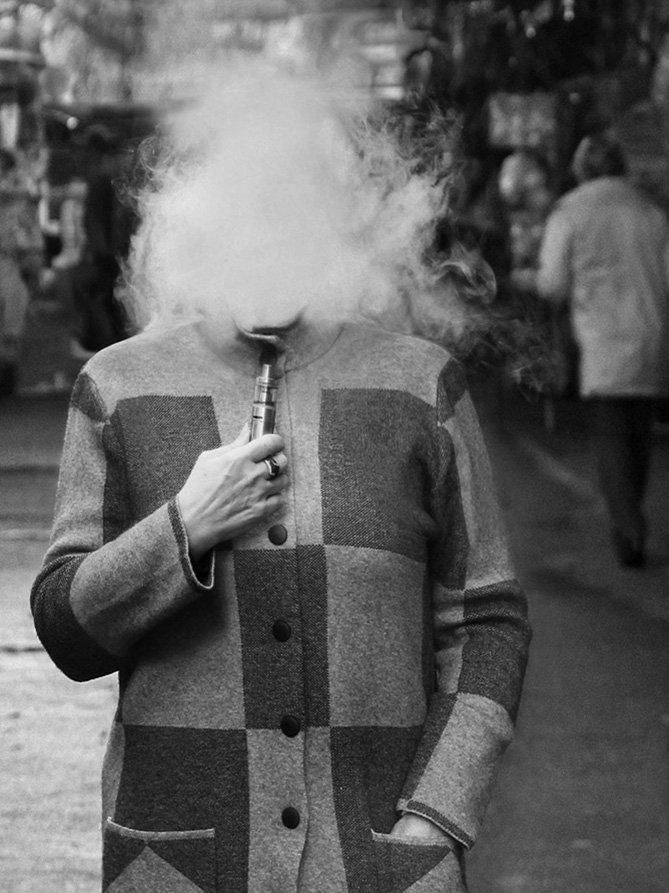 дым, женщина, Rita Gadar