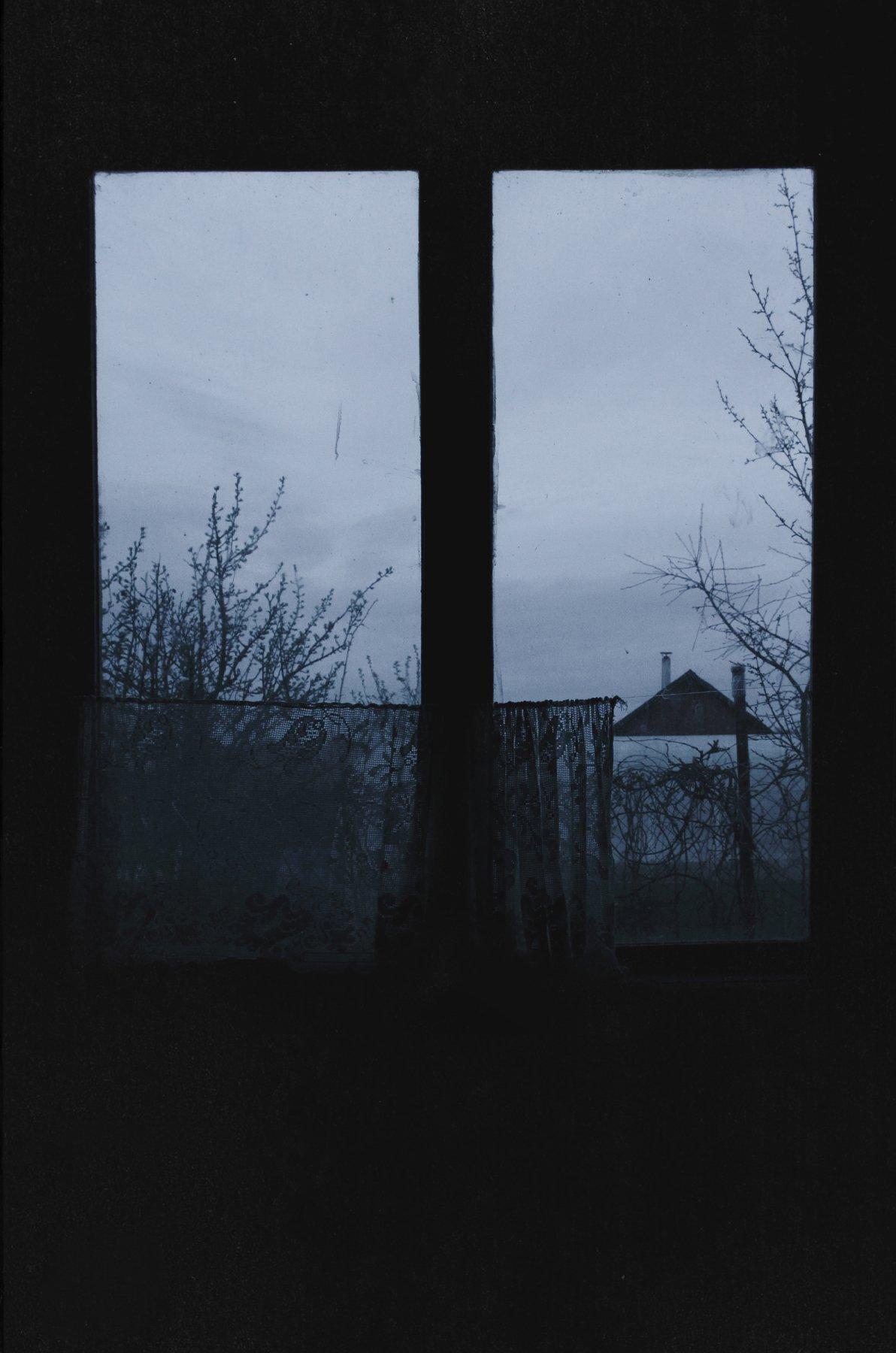 окно, вечер, деревня, сумерки, анна салтыкова, Анна Сергеевна Салтыкова (Анка)