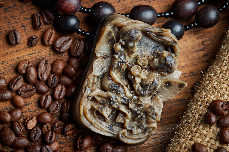 мыло, кофе, ручная работа, рекламная фотография, натюрморт, стиль, кофейные зерна,, Виталий Мытник