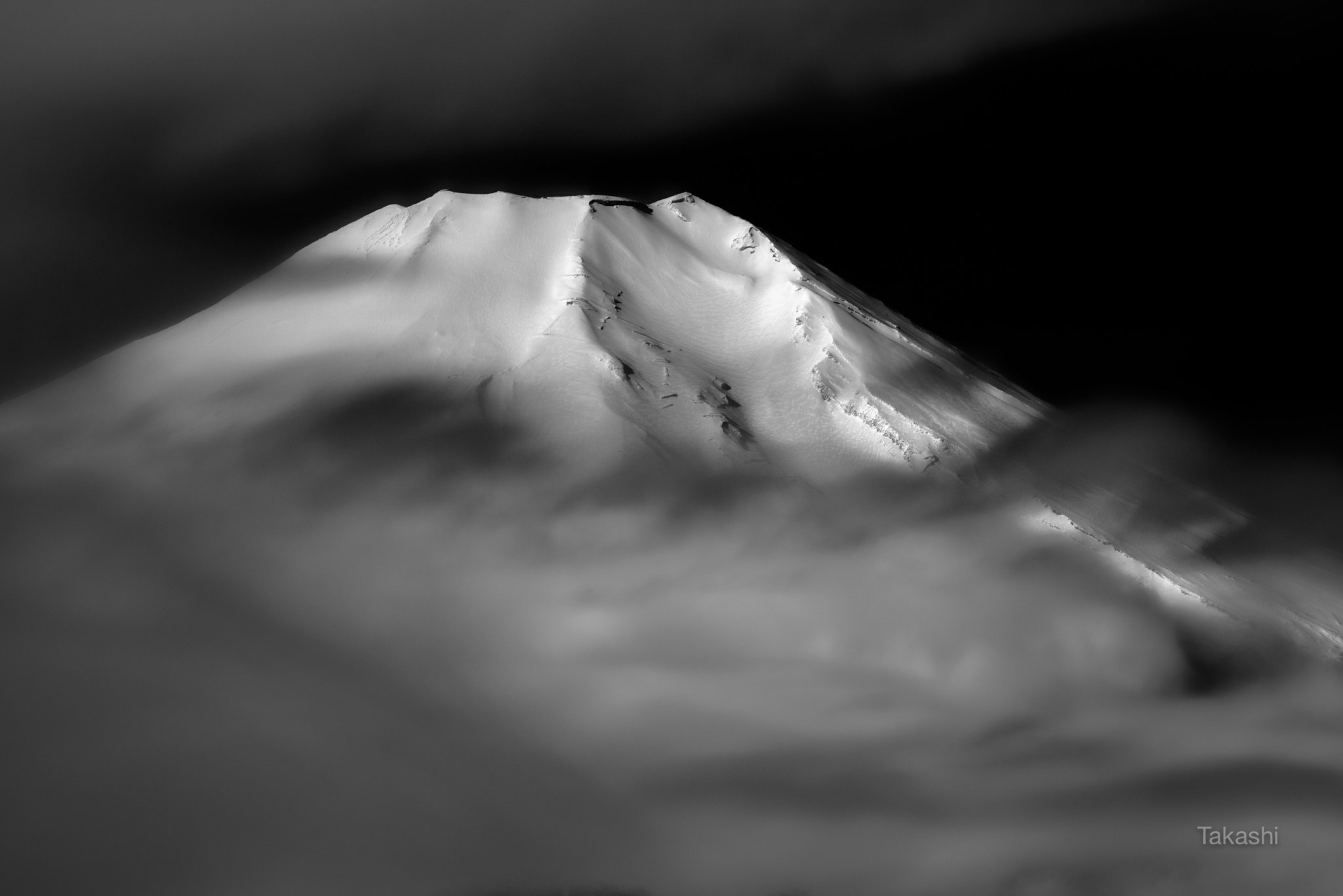 fuji,japan,mountain,white,snow,cloud,beautiful,amazing,fantastic, Takashi