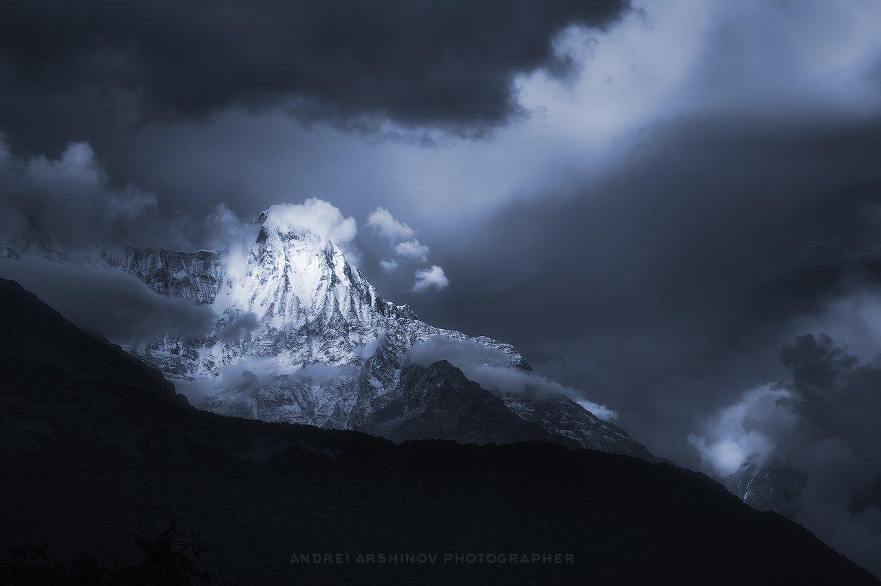 непал, Аннапурна, Soft Light