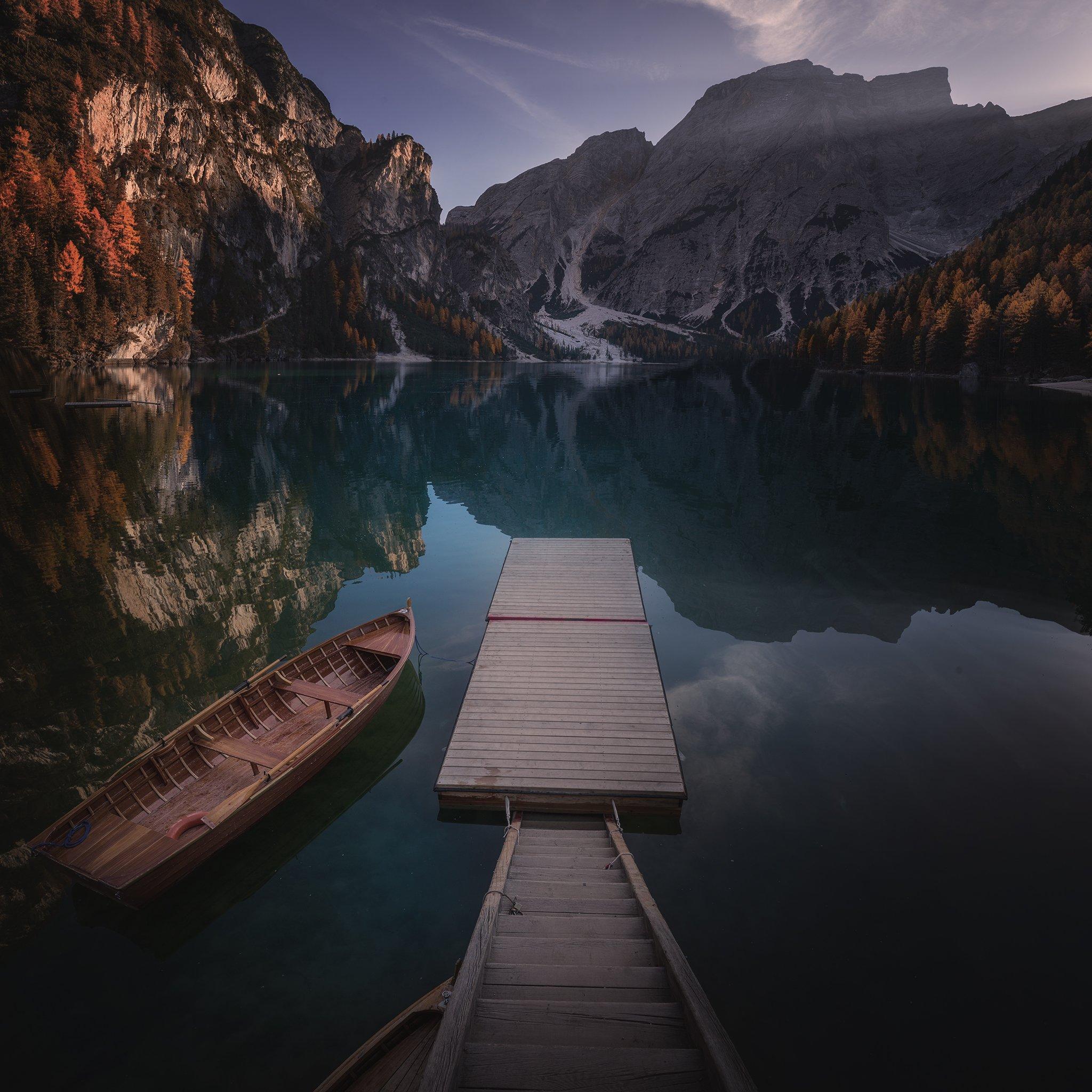 lake, Italy,  autumn, Georgi Mitev