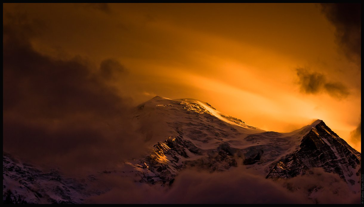 горы, франция, альпы, свобода, облака, закат, путь, выбор, монблан, лед, снег, Vitaliy Rage