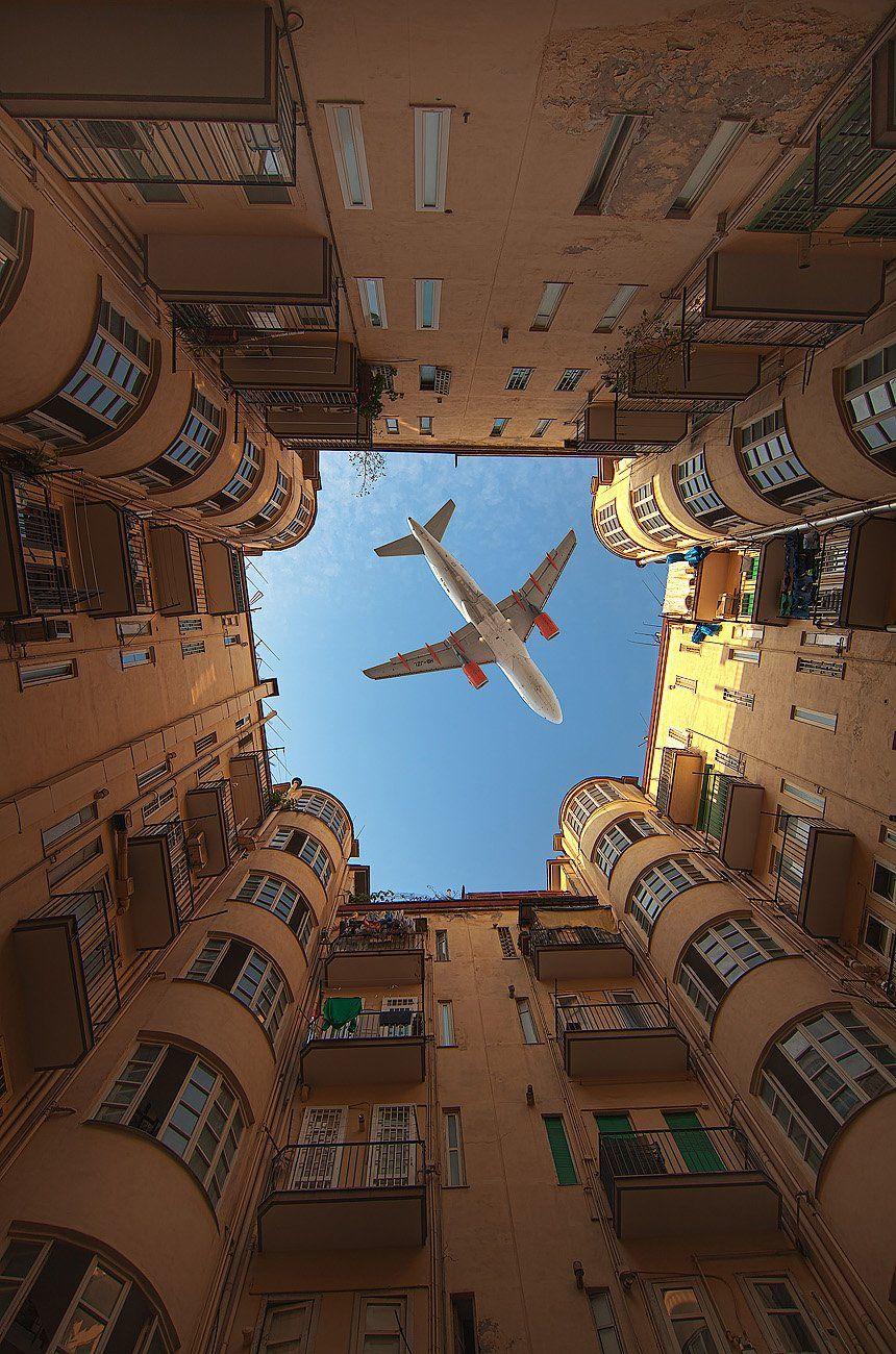 город, самолет, irina