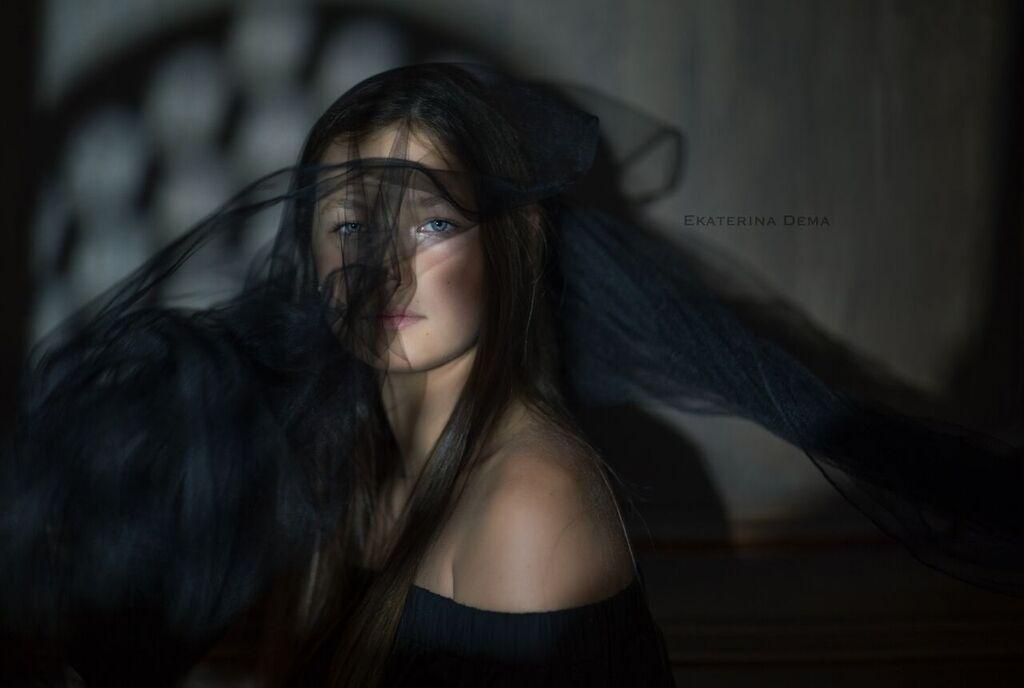 girl, strange, fashion, mood, sad, Ekaterina Dema