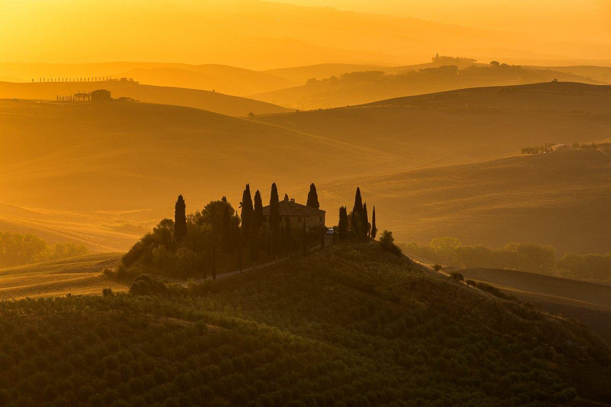 tuscany,italy,sunrise, Marek Biegalski