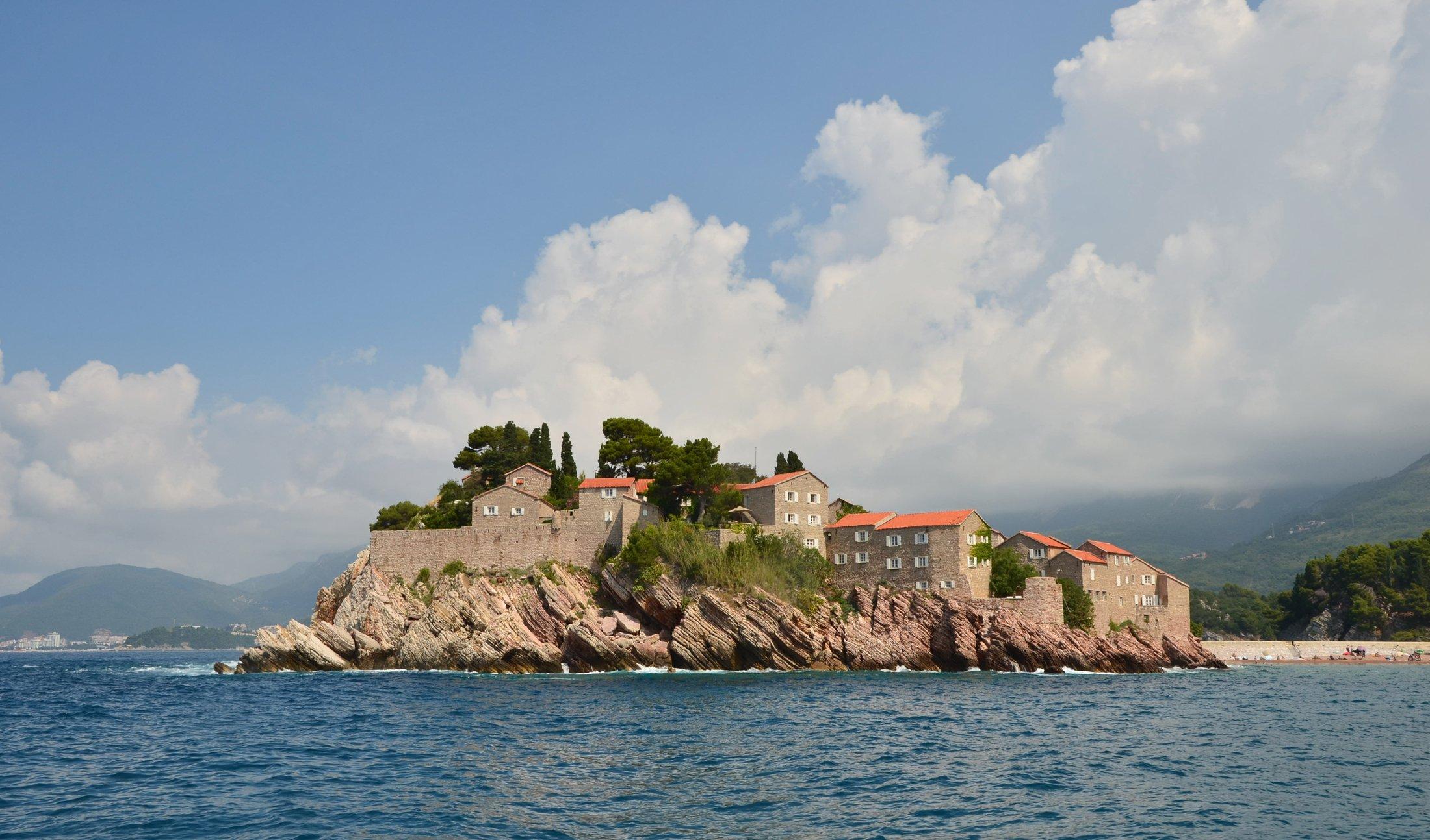 черногория, остров свети-стефан, адриатика, Валерий Наумов