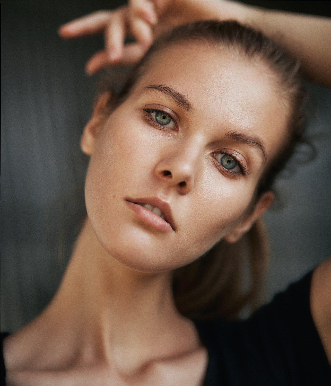 девушка, портрет, естественный свет, Иван Копченов
