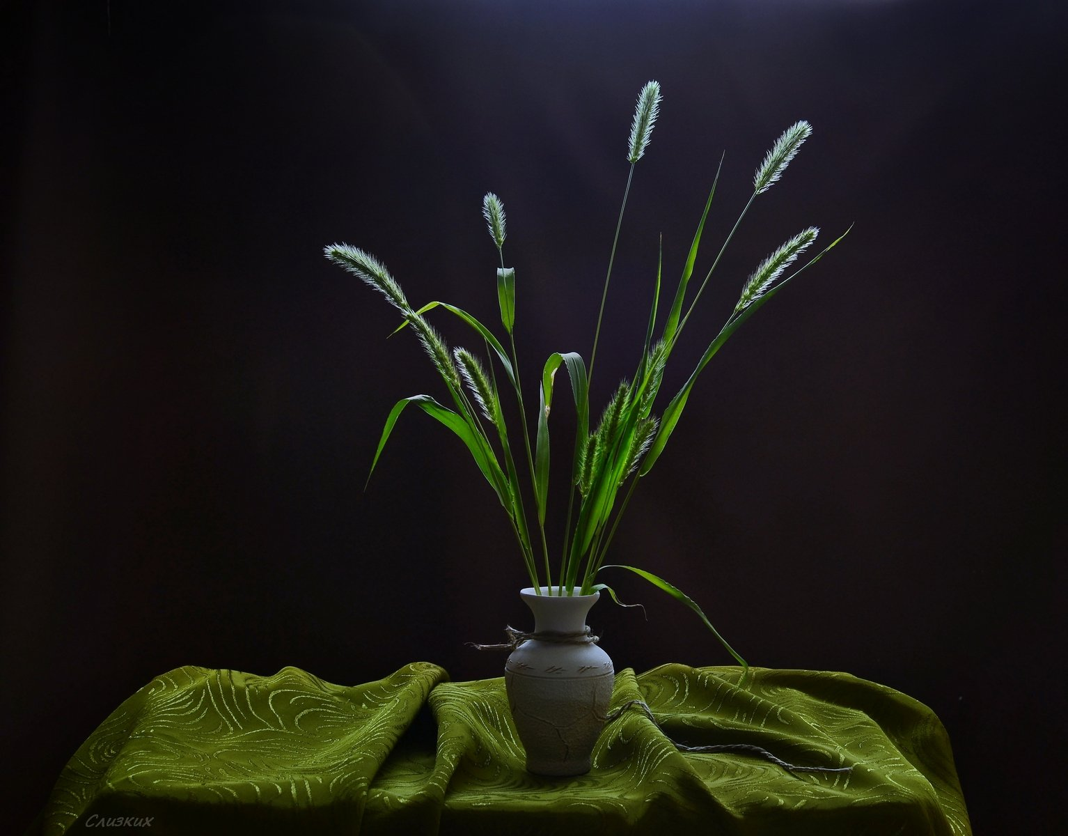 натюрморт,букет,свет,лето,ваза,трава, Инаида