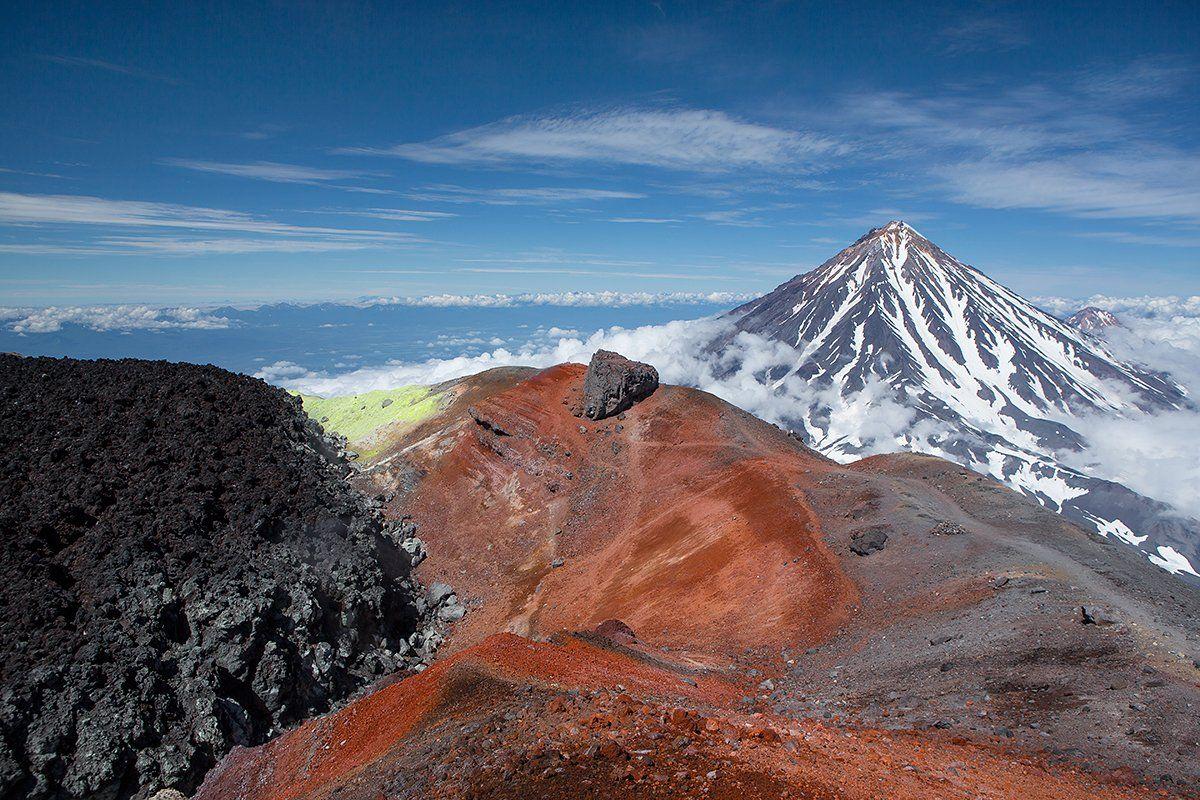авачинский, вулкан, кратер, Николай Ушаков (Graff)