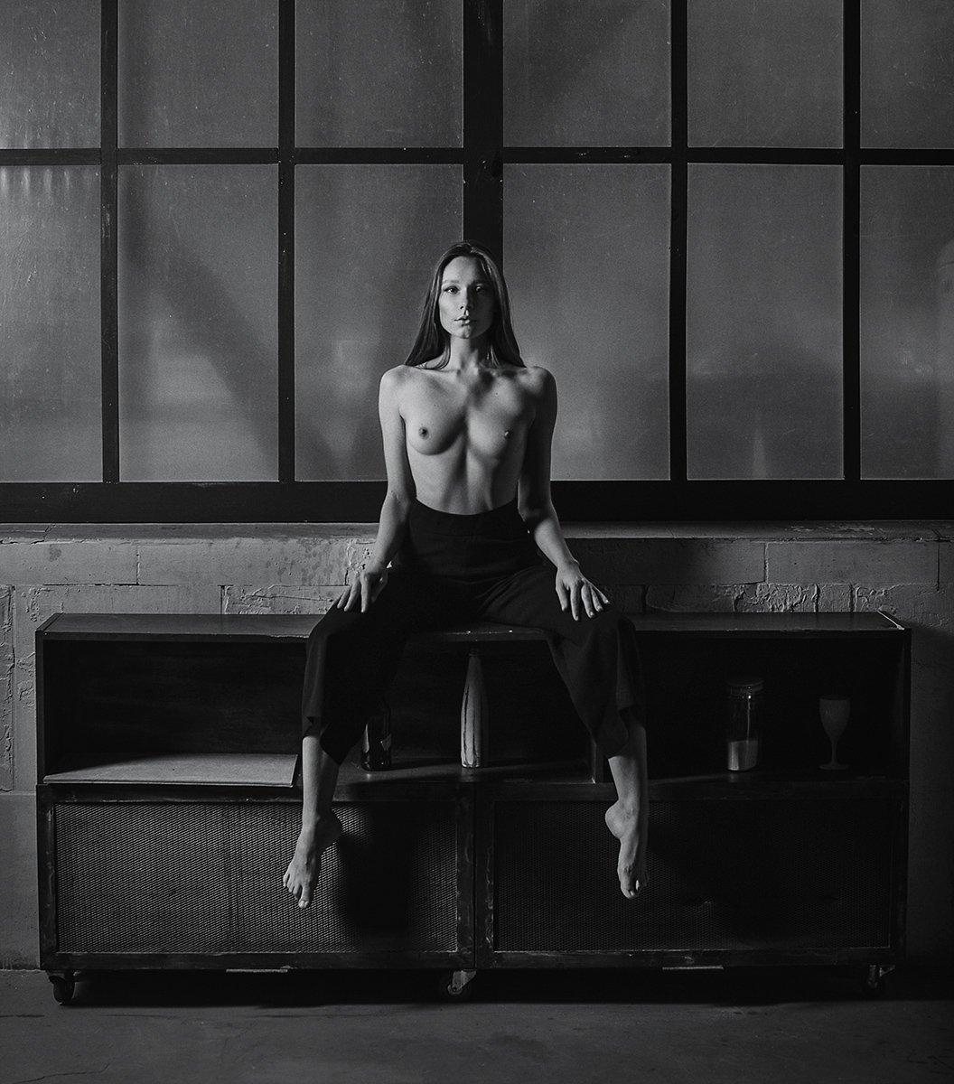 nude  nude woman workshop fine art monochrome arkadiy kurta, Курта Аркадий