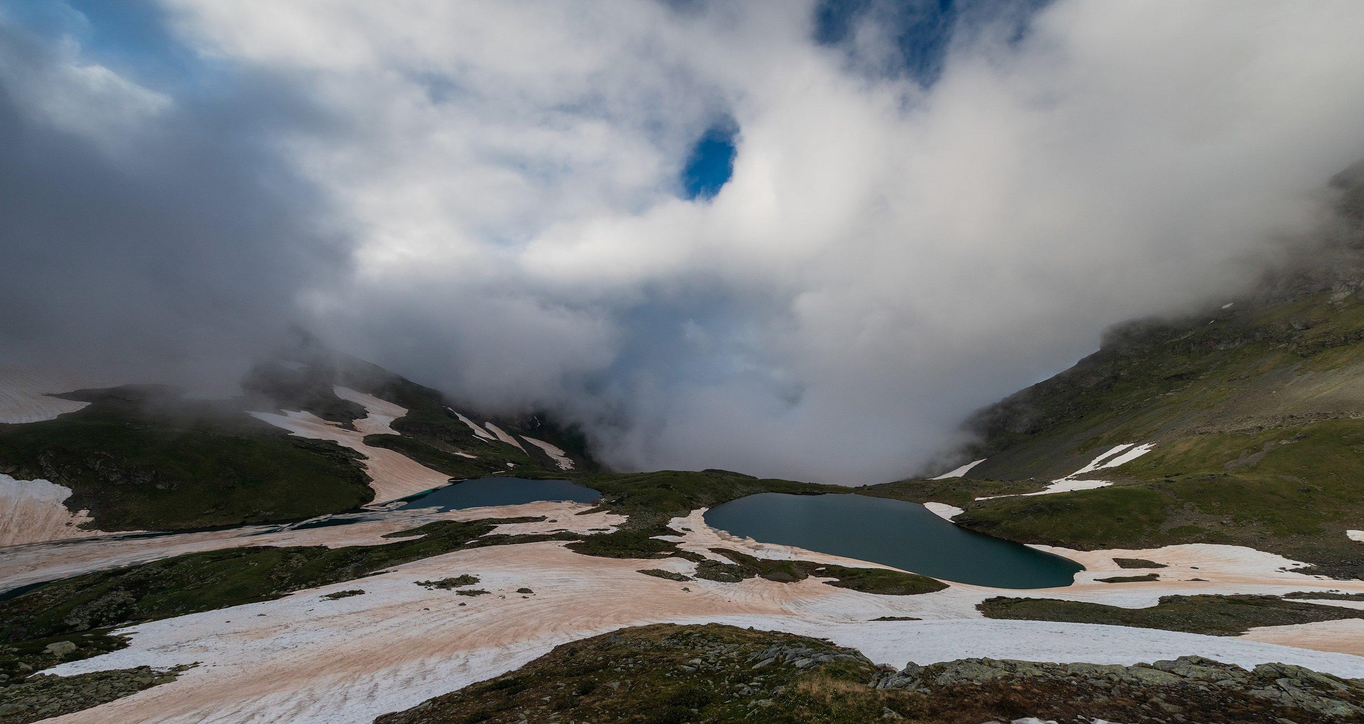 кавказ, горы, кчр, загедан, озеро, июнь, 2018, ФЁДОР