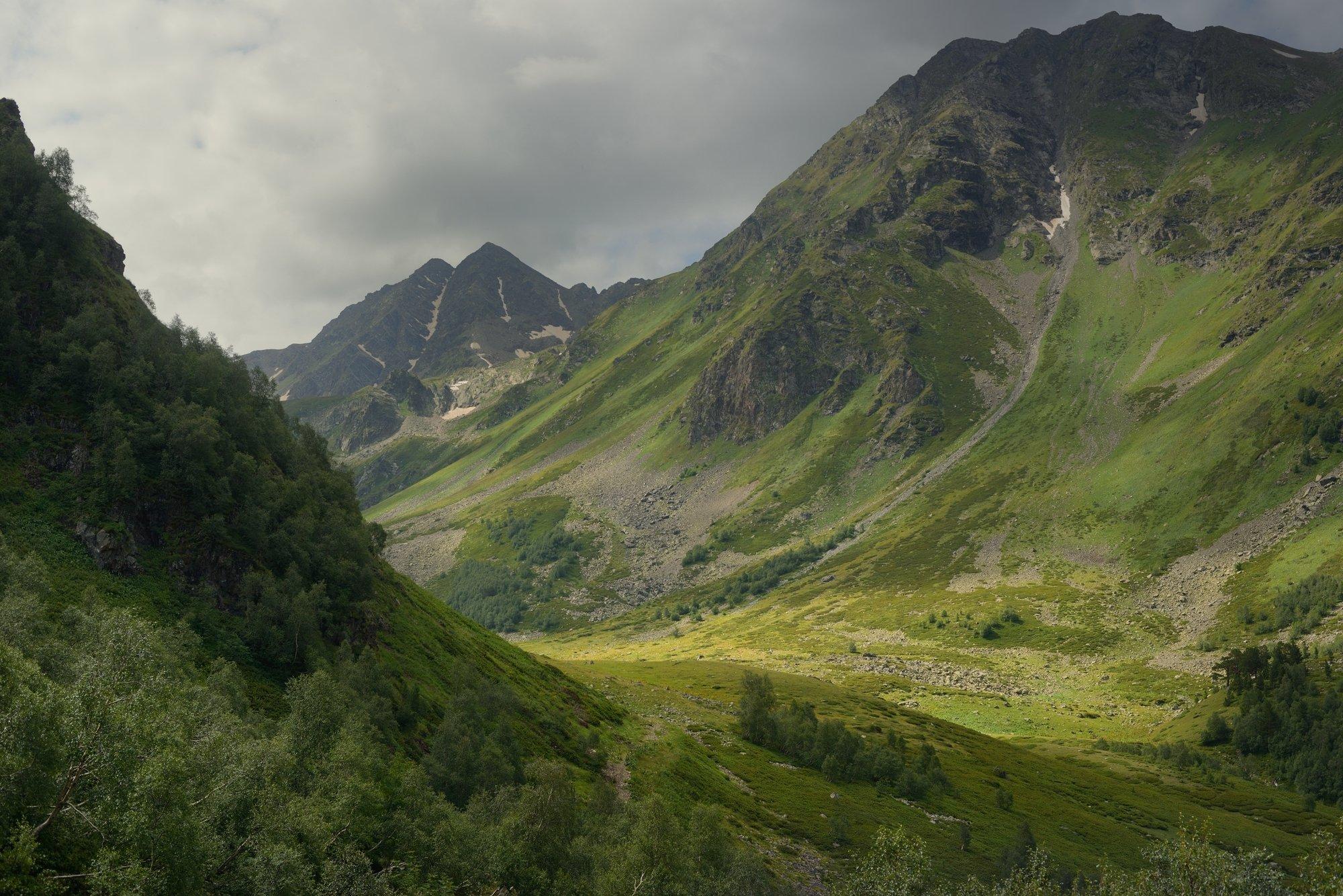 горы лето архыз, Александр Жарников