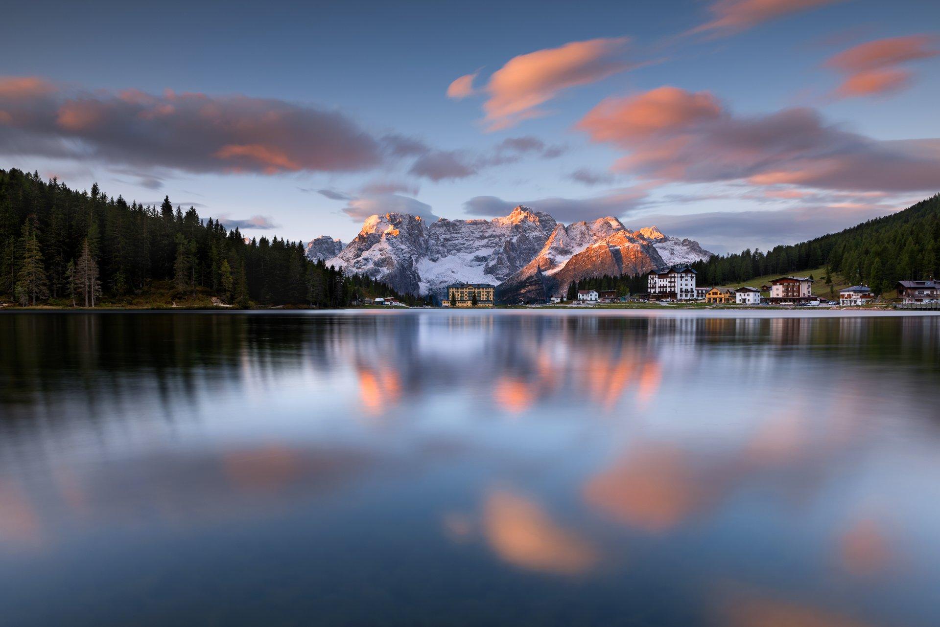 Hugo, Só, HugoSó, Nikon, D810, NikonD810, Dolomites, Misurina, Lake, Italia, Italy, Dolomiti, Lago, Clouds, Water, Hugo Só