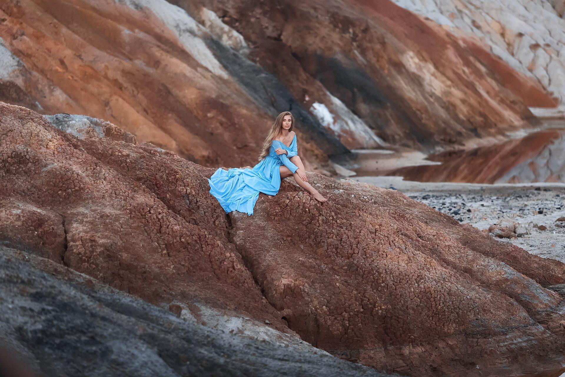 девушка, модель, пейзаж, портрет, Бармина Анастасия