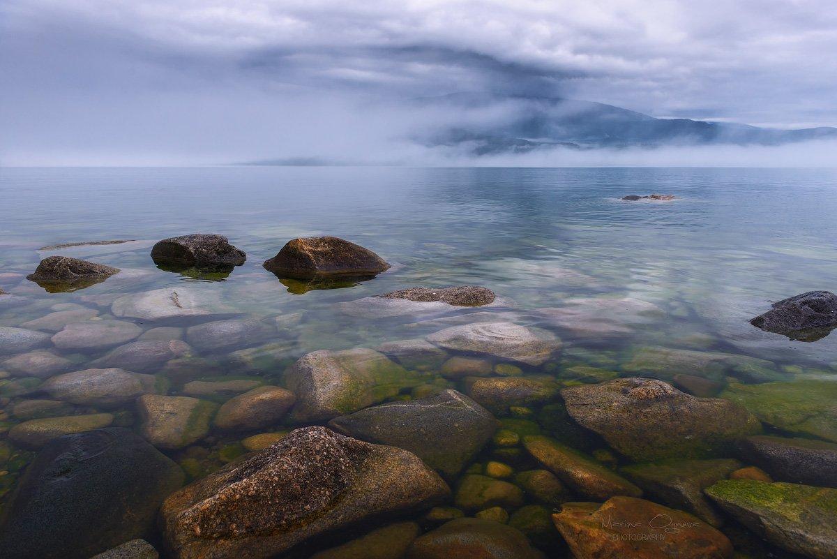 туман, байкал, природа, пейзаж, Марина Огнева