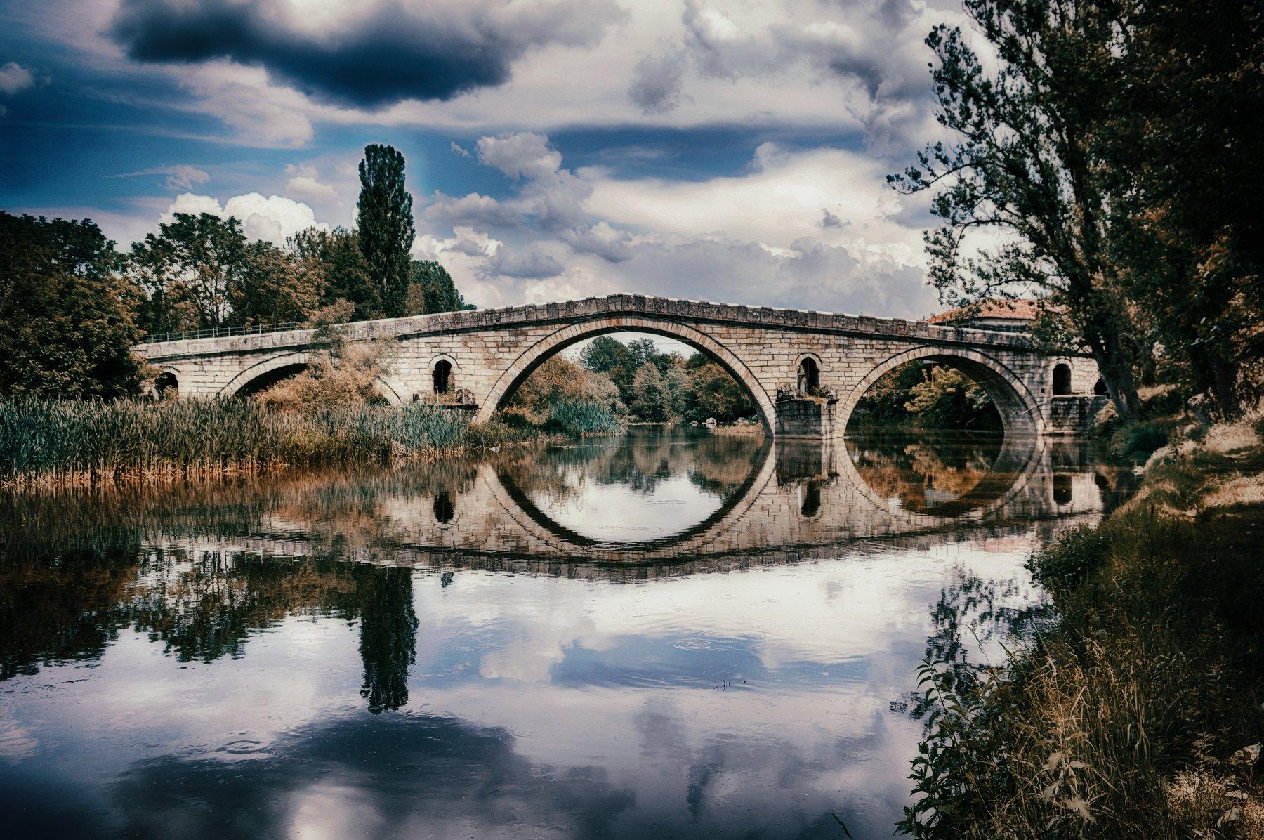 bridge river, Teodora Sarbinka