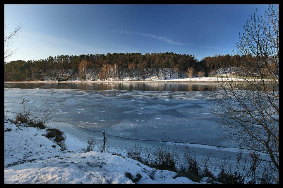 москва, серебряный бор, снег, москва-река, Алексей Самарин