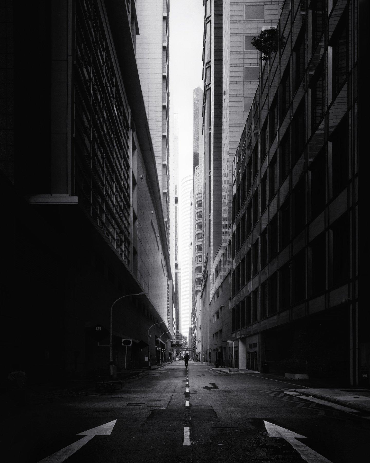 город, архитектура, черное-белое, мегаполис, сингапур, Алексей Ермаков