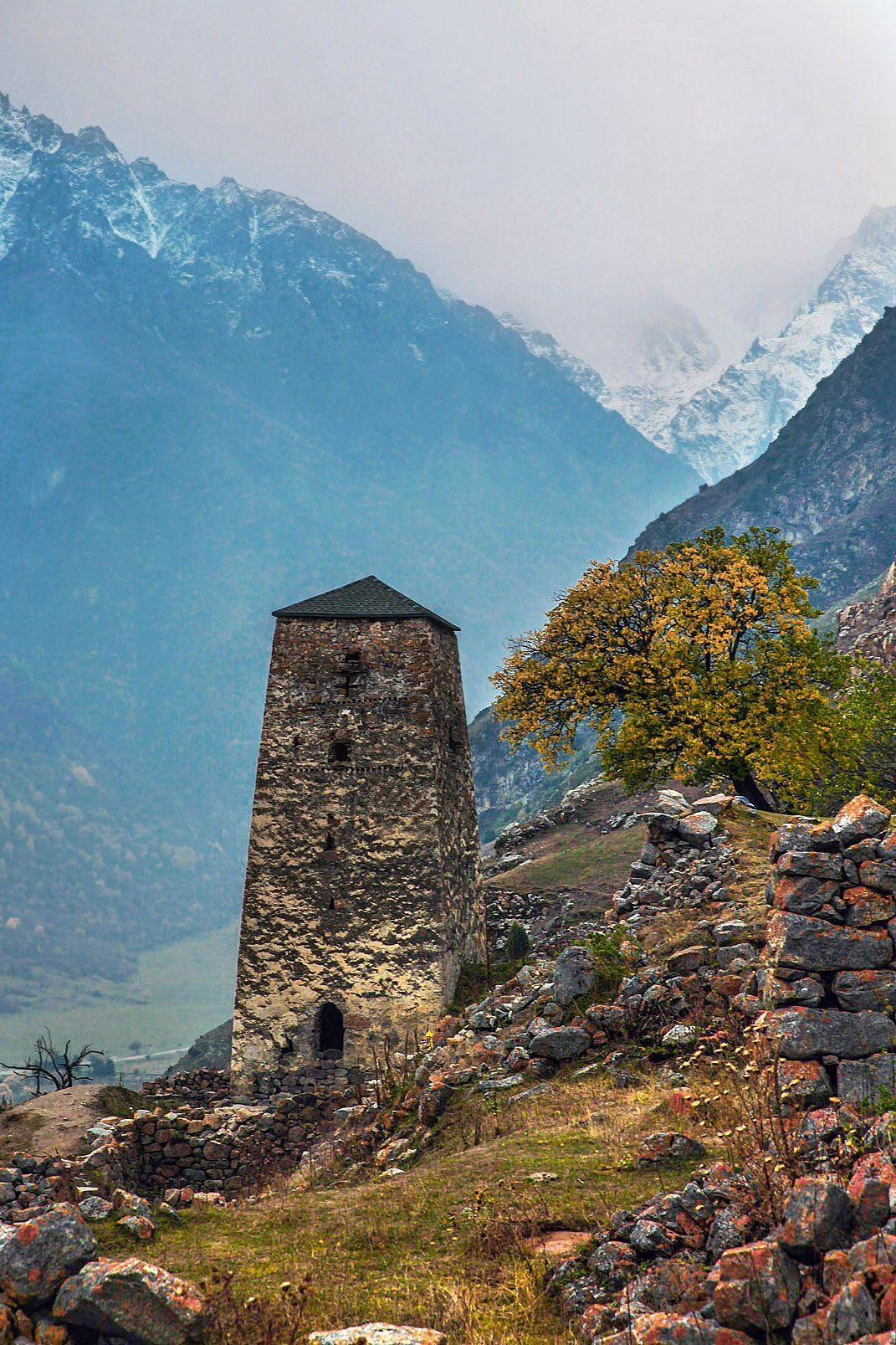 горы,осень,природа,башня, Марат Магов