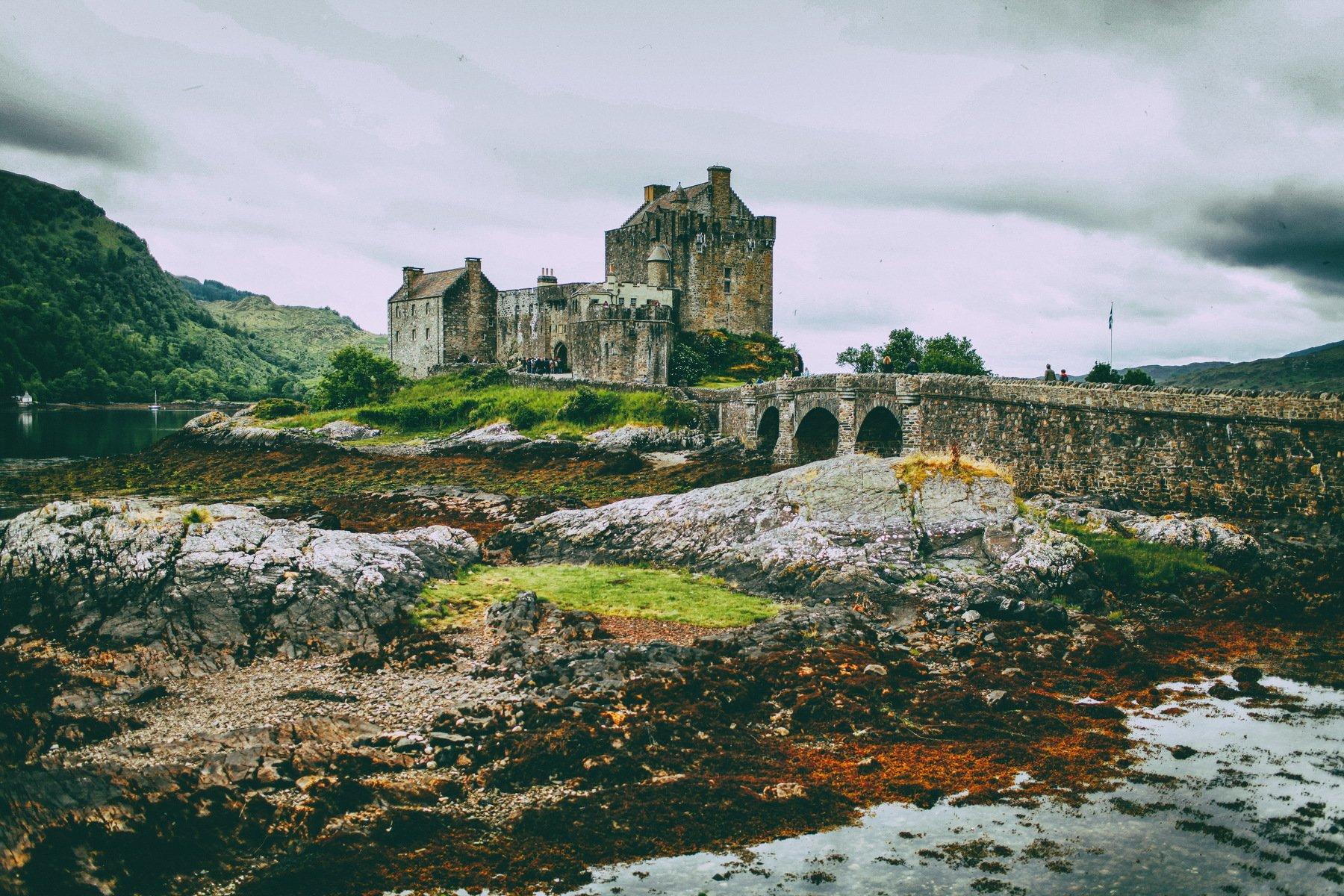 Eilean Donan Castle, Lilia Tkachenko