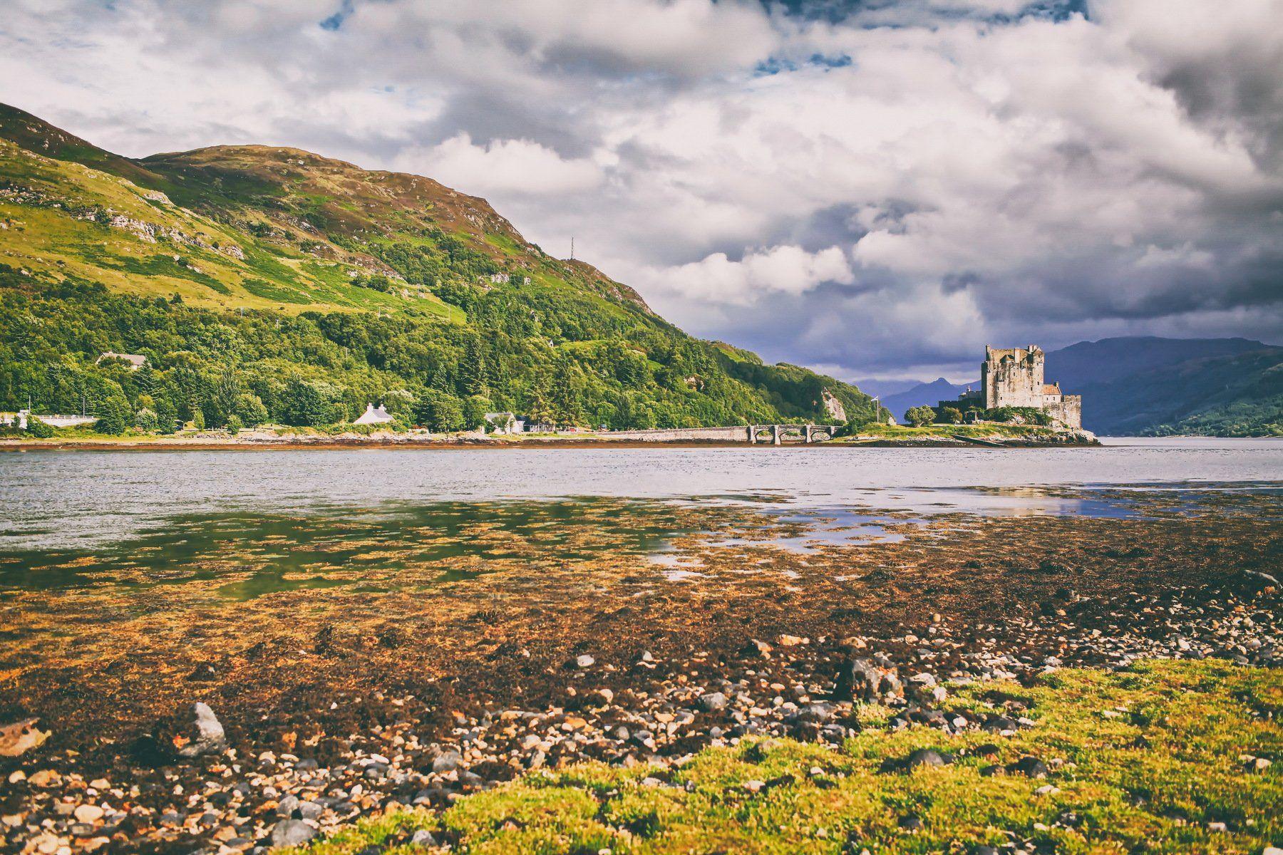 Eilean Donan Castle Scotland England, Lilia Tkachenko