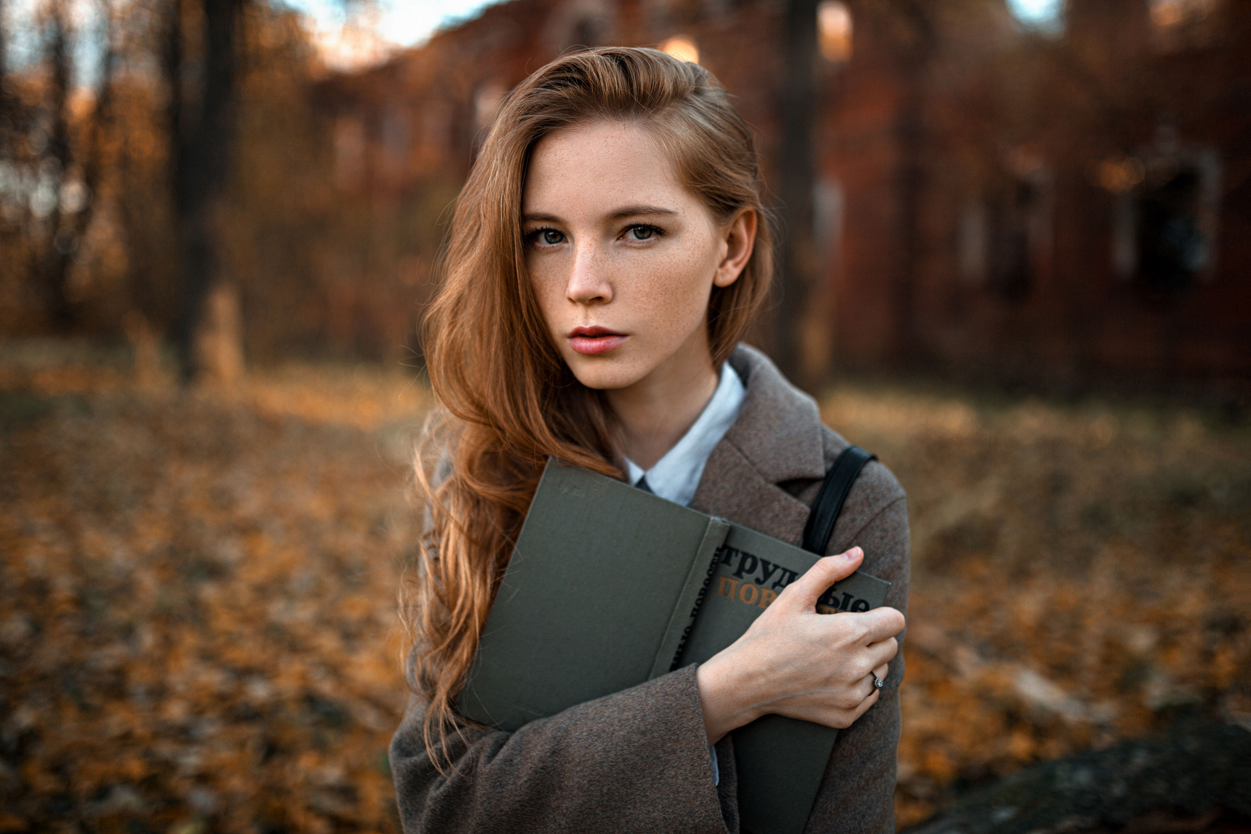 девушка, портрет, дом, свет, Александр Куренной