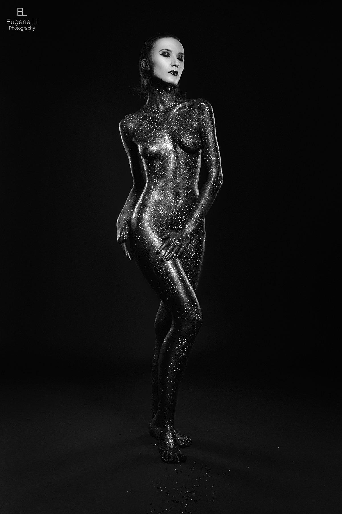 девушка, портрет, Евгений Ли