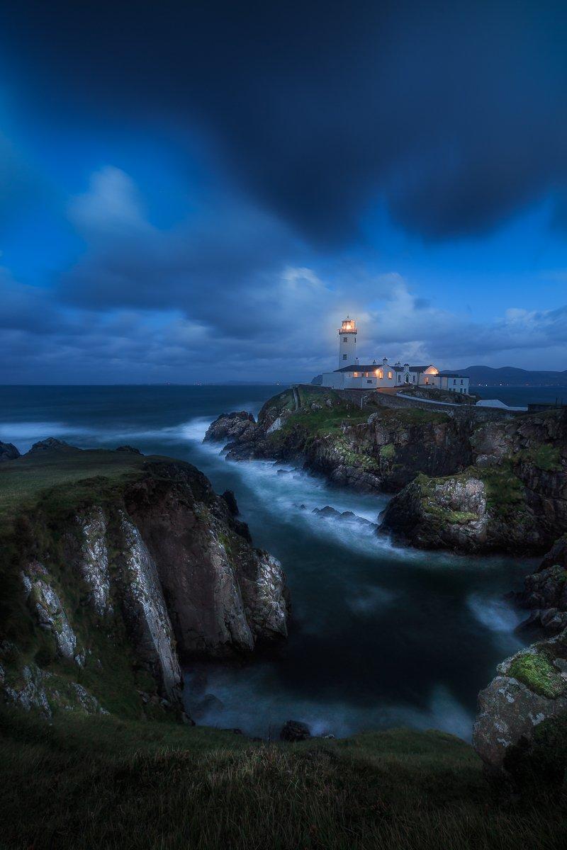 ireland, landscape,fanad head lighthouse, donegal< longexposure, Ryszard Lomnicki