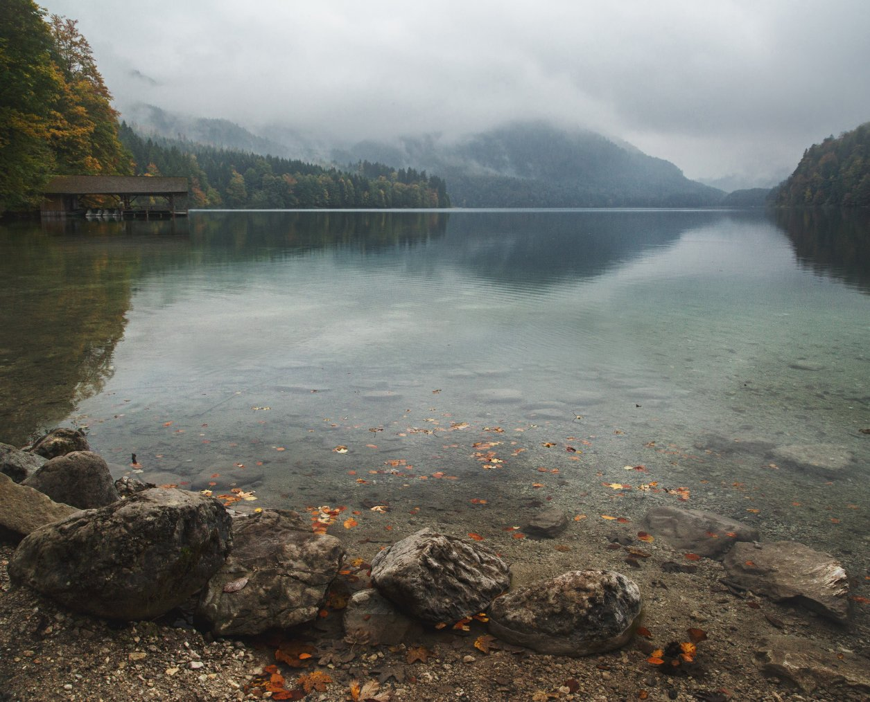 гора; озеро; лес; осень; туризм, Александр Удовиченко