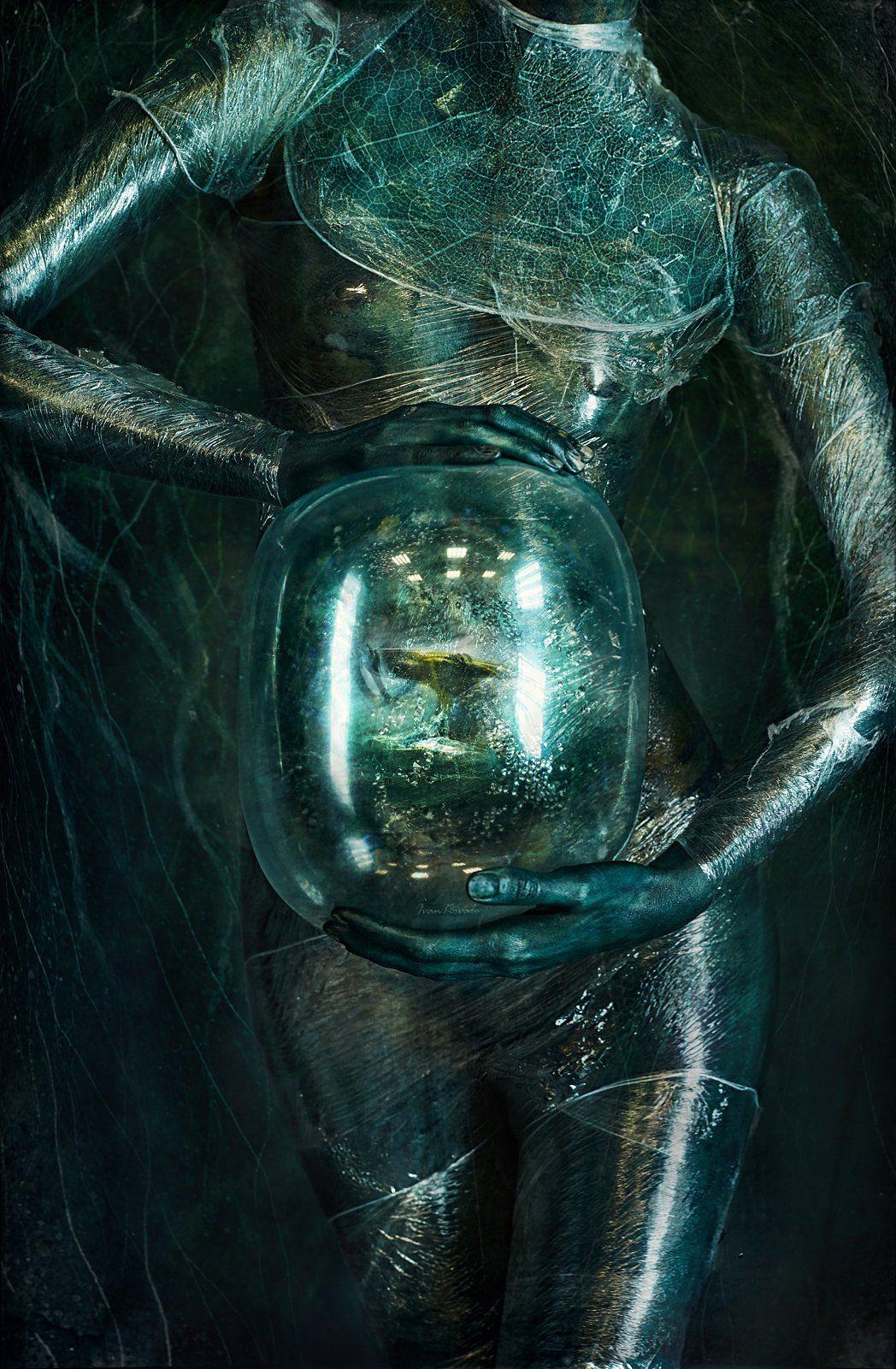 портрет, планета, жизнь, обитатель, встреча, цвет, шар, эмбрион, рождение, вода, планета, переселение, встреча, невероятность, нептун, кеплер, Ковалёв Иван
