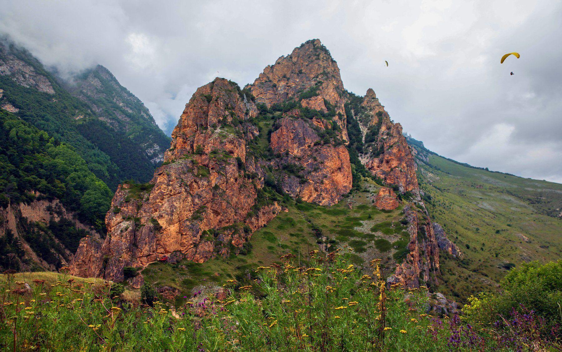 горы,лето,пейзаж,туман, Марат Магов