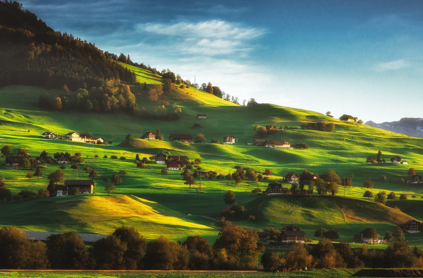 landscape.hills,light,swiss,nature, Olegs Bucis