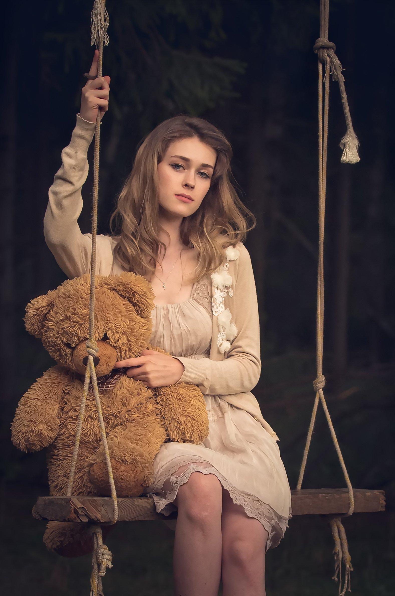 портрет, девушка, Елена Ивонина