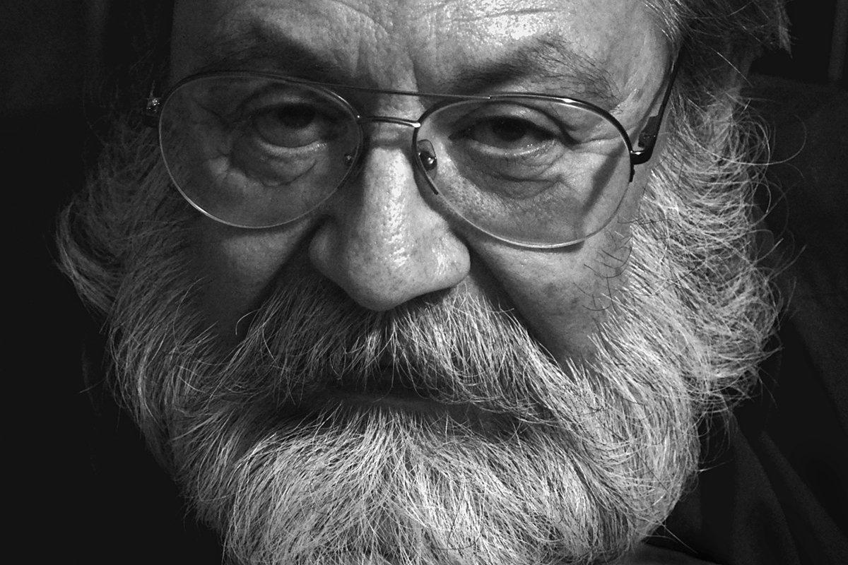 портрет, мужчина, борода, глаза, взгляд, чб, апатиты, Николай Смоляк