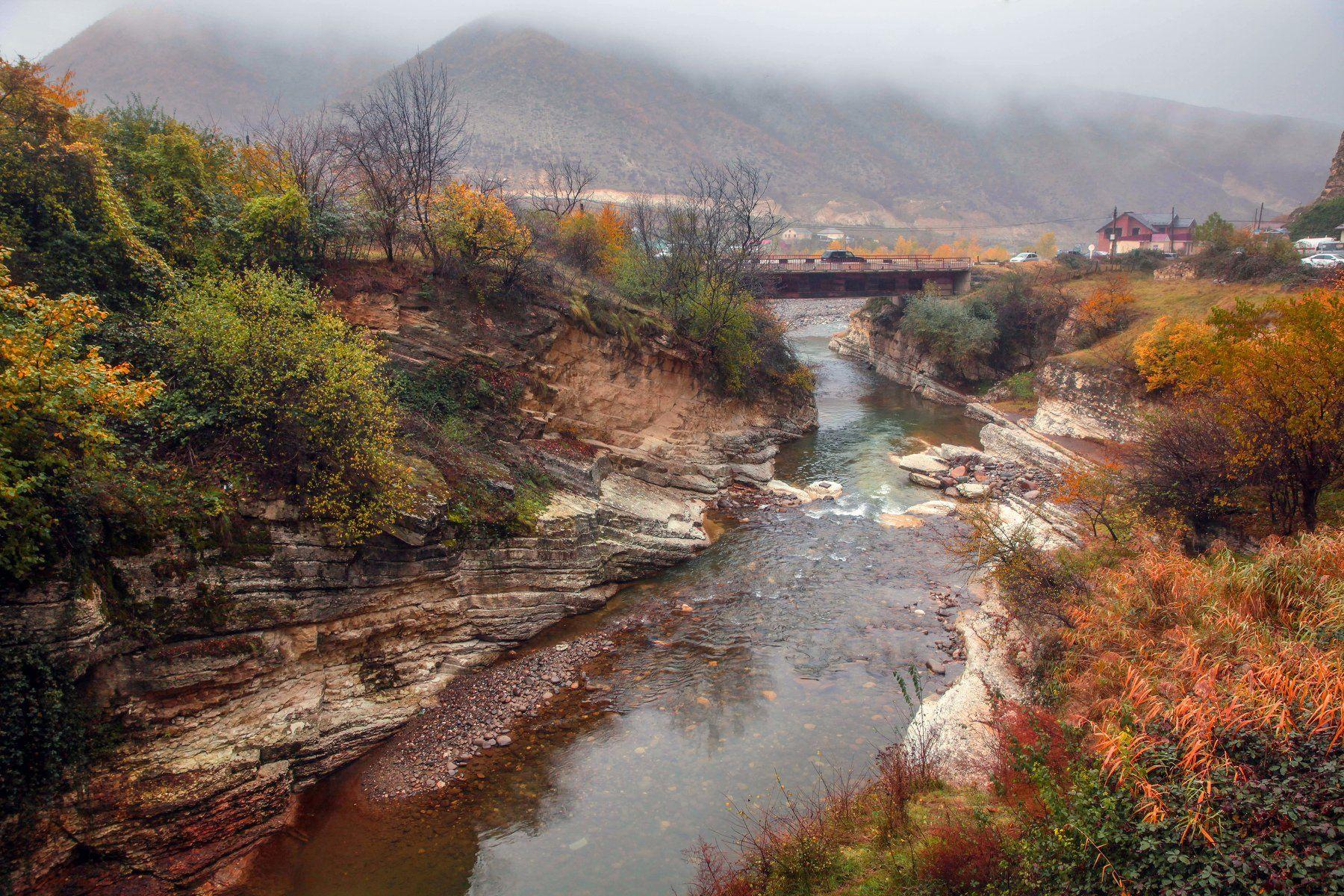 река,горы,осень,природа,дагестан., Марат Магов