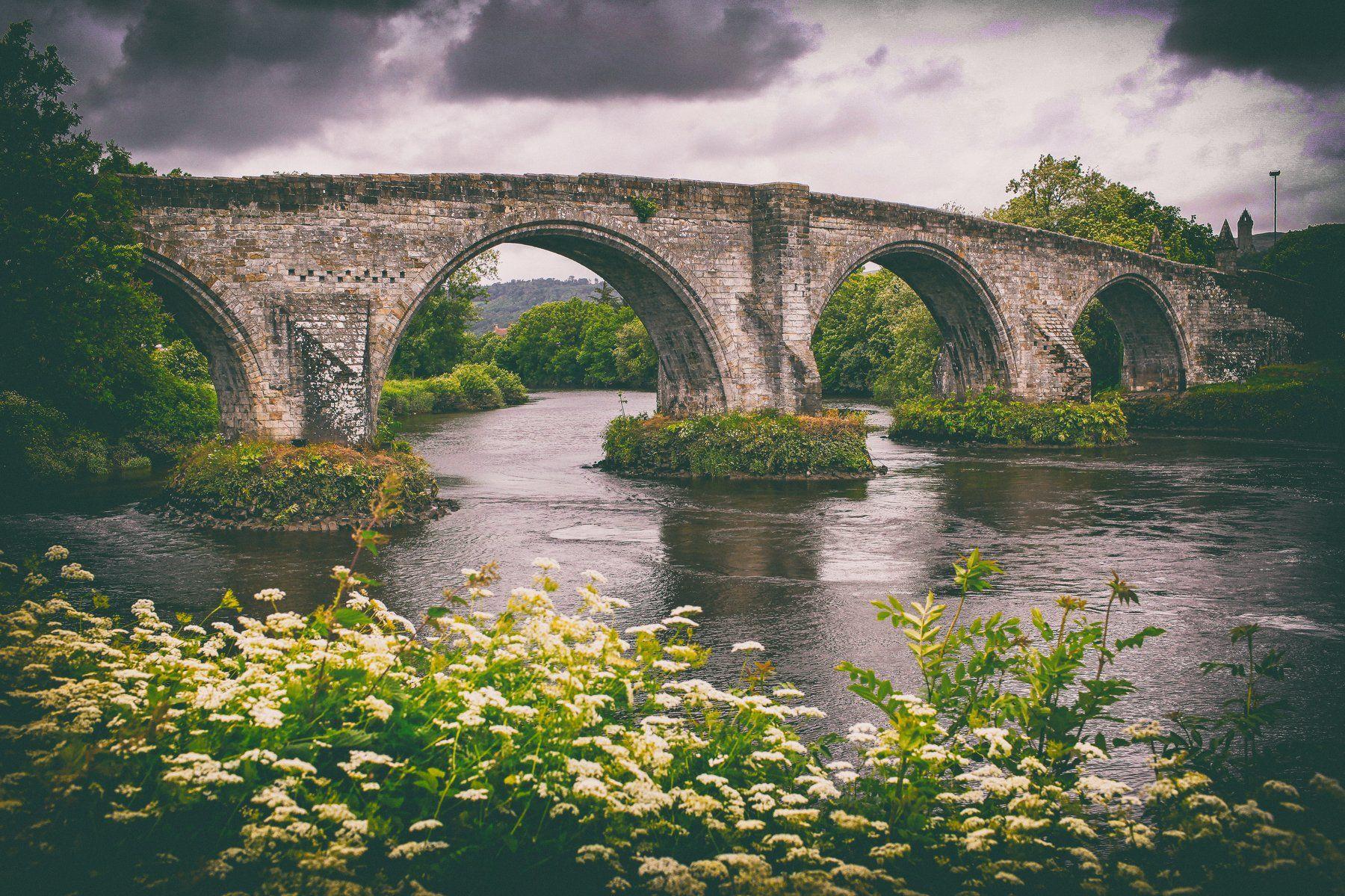 Stirling Old Bridge Scotland , Lilia Tkachenko