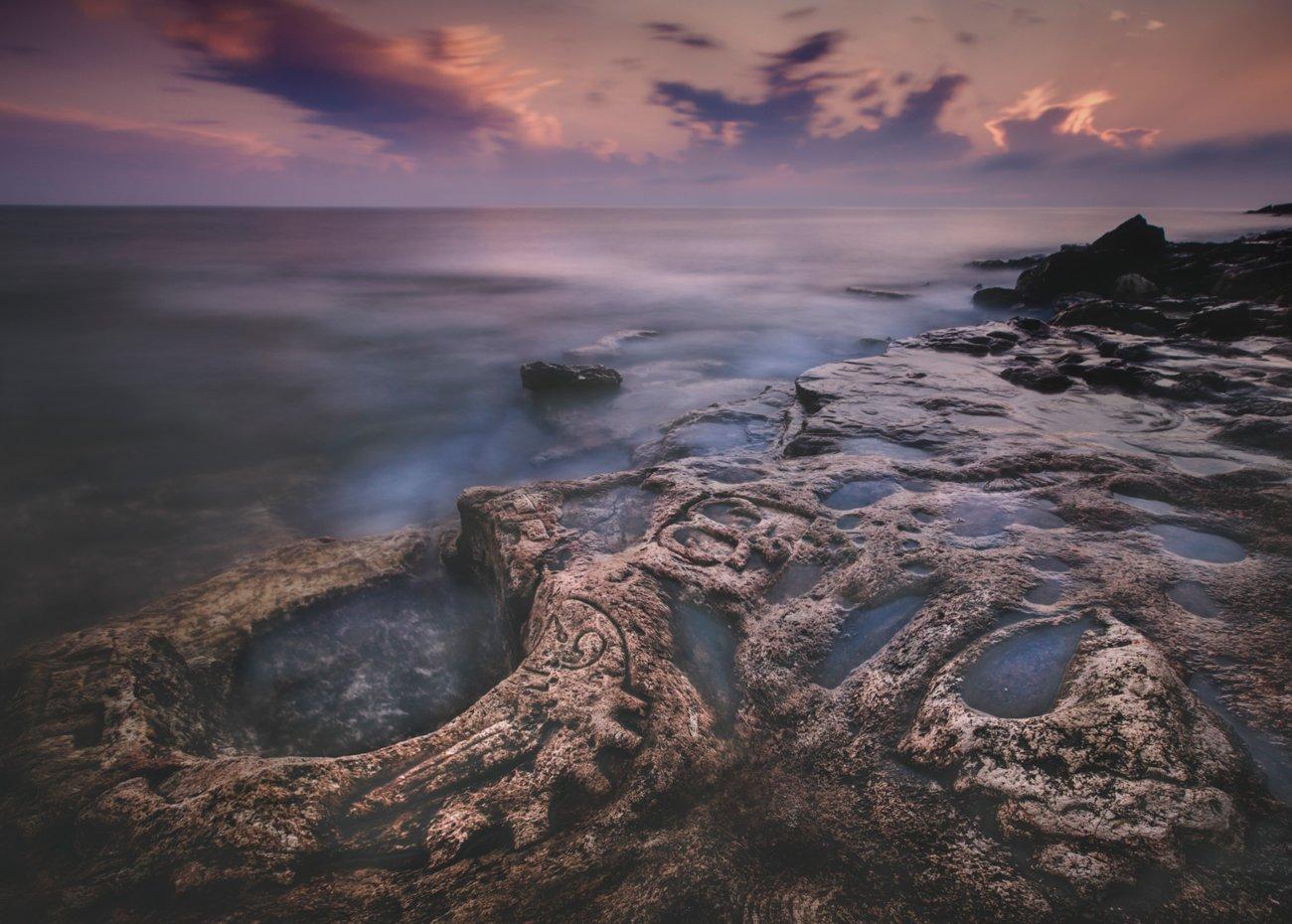 пейзаж,крым,закат,побережье,облака,природа,фототур,россия, Elena Pakhalyuk