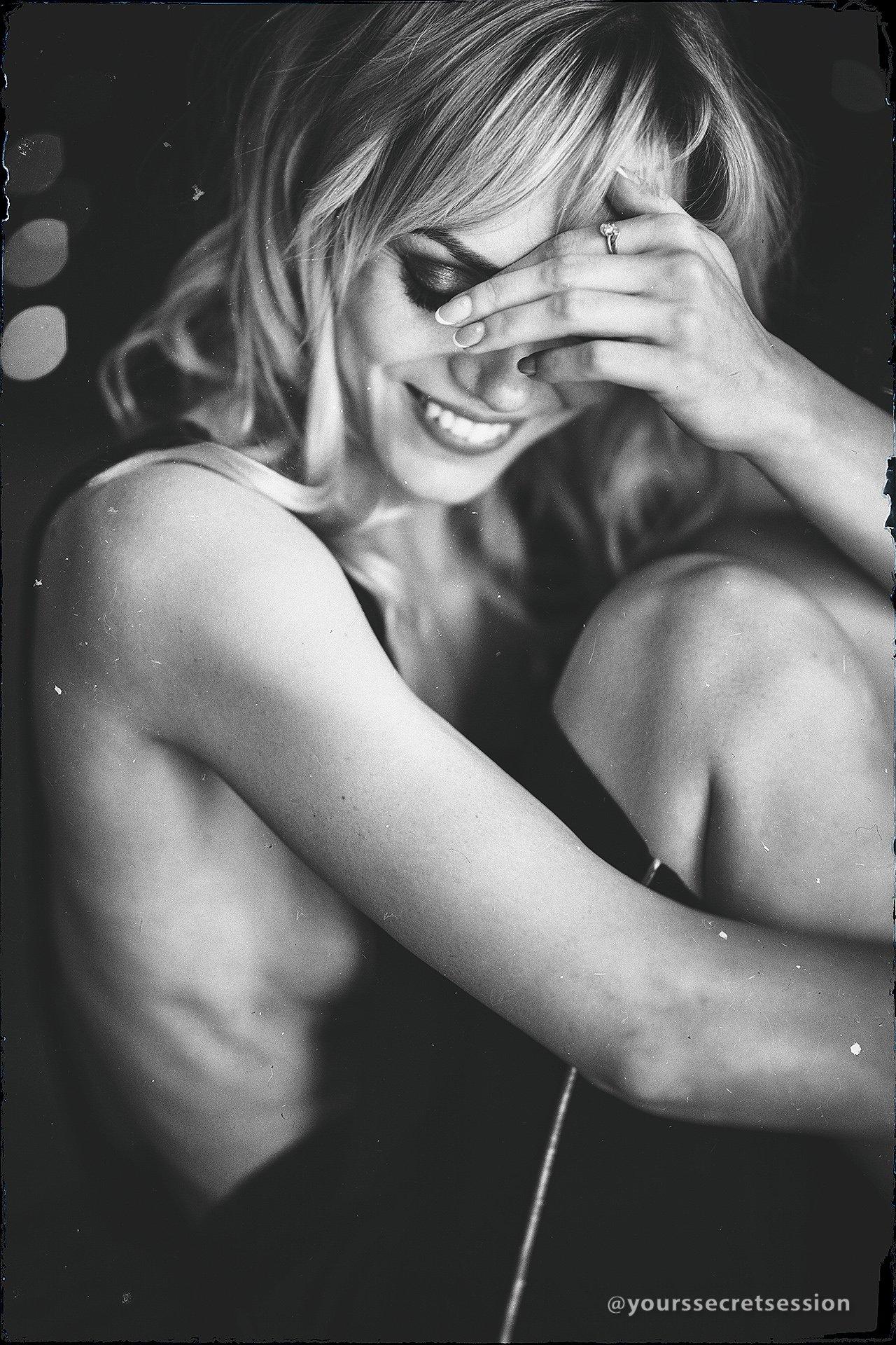 ню, девушка, портрет, чб, Андрей Сайфутдинов