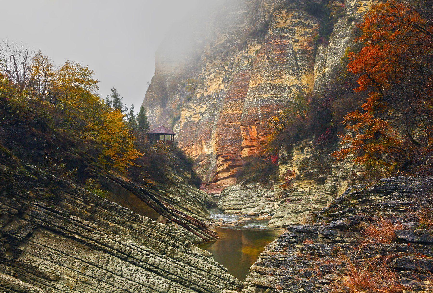 горы,осень,природа,река,дагестан., Марат Магов