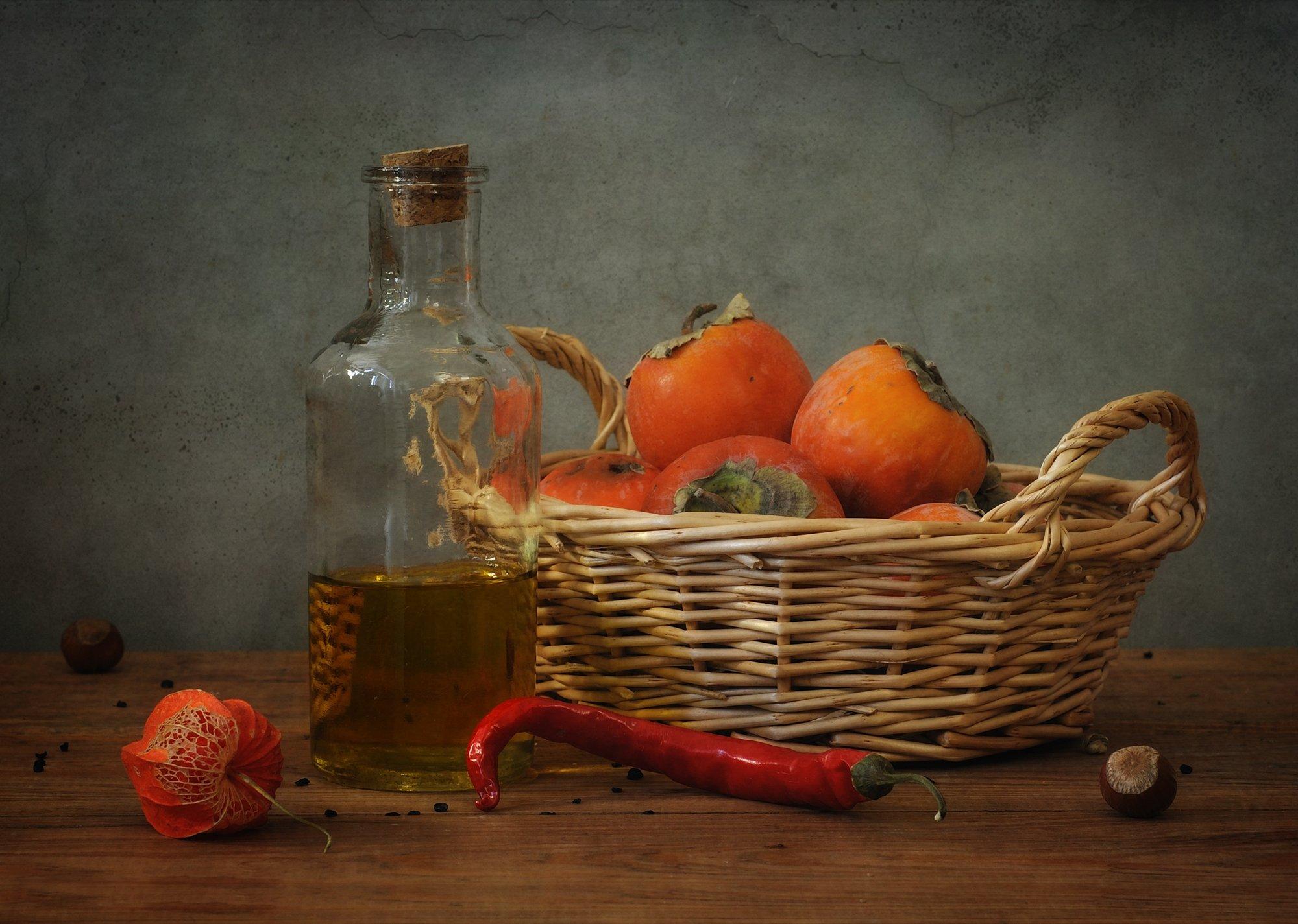 натюрморт,хурма,осень, Наталия К