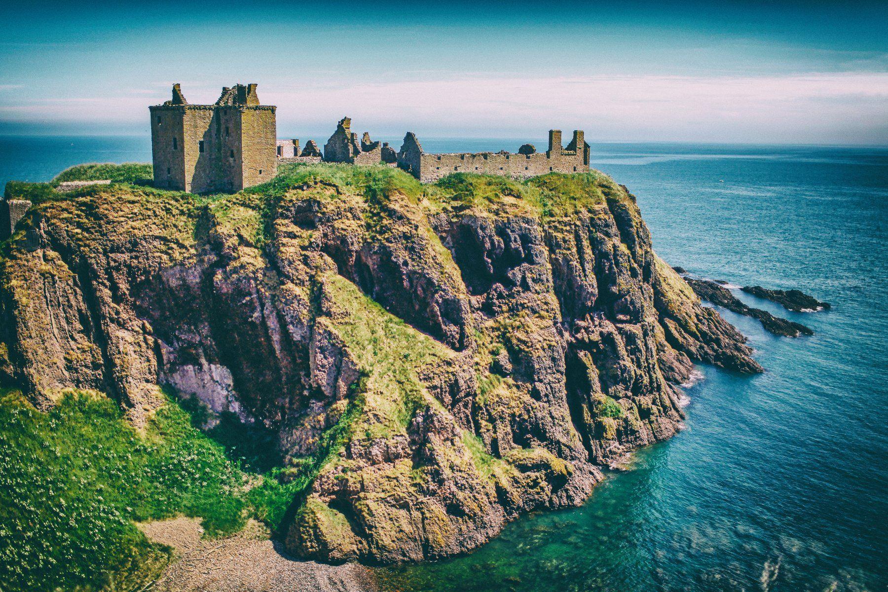 Dunnotar Castle Scotland, Lilia Tkachenko