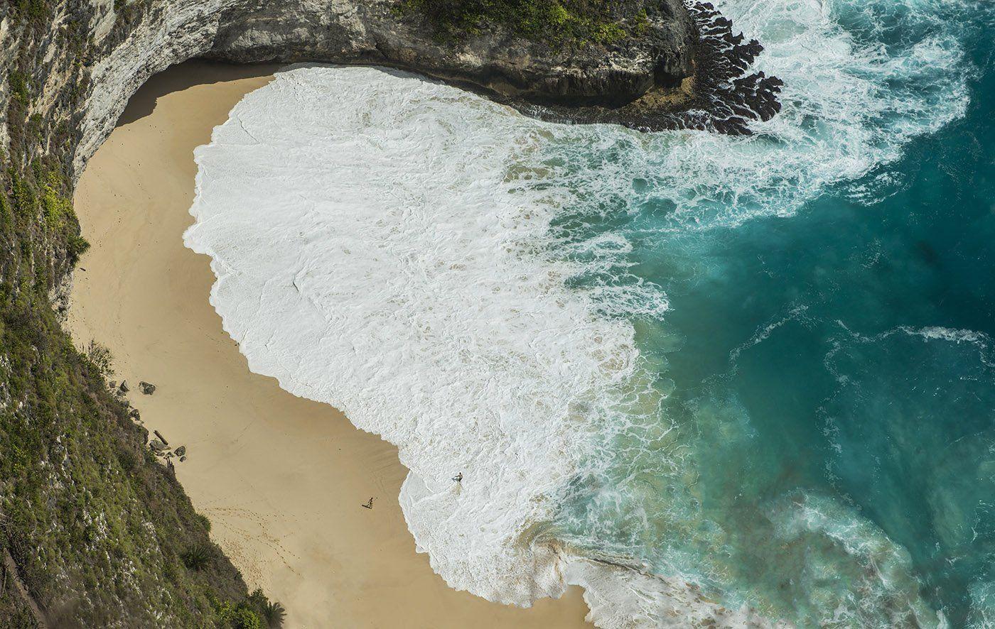 Бали, нуса пенида, остров, океан, волны, Марина Мудрова