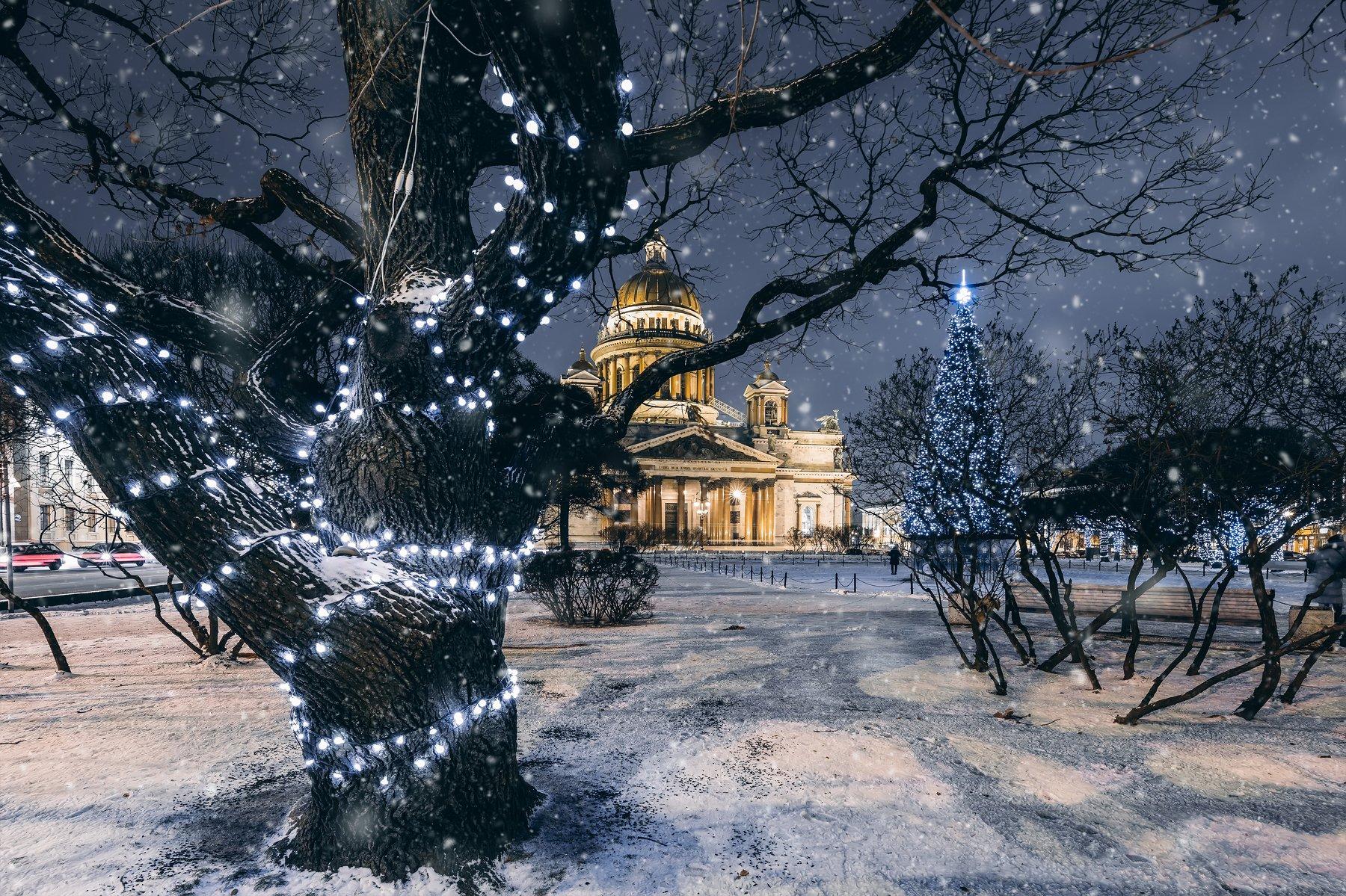 #зима, #пейзаж, #город, #улица, #winter, #city, Andrei Mikhailov