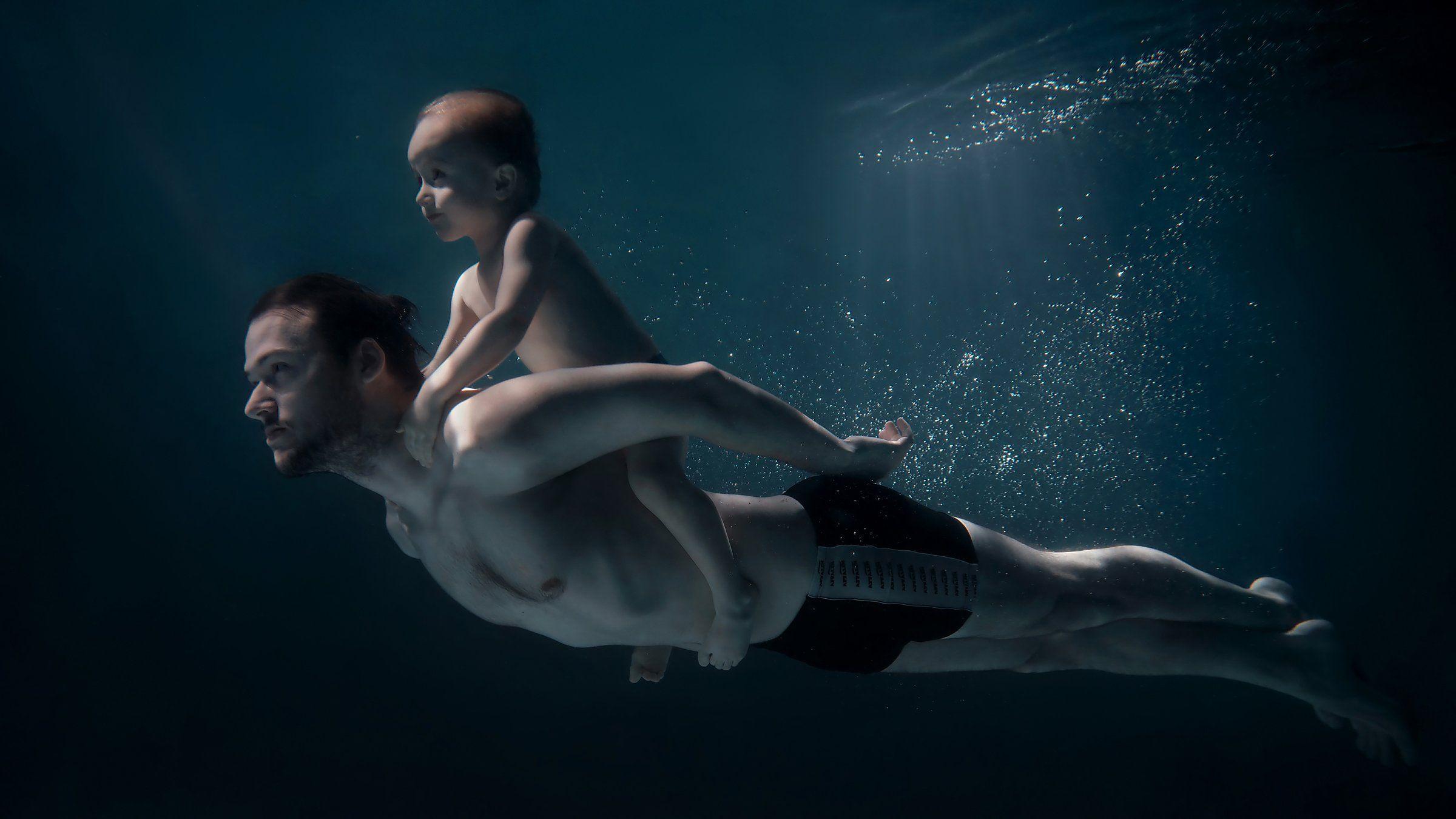 Подводная, съемка, фотосъемка под водой, вода, море, океан, Слава Гребенкин