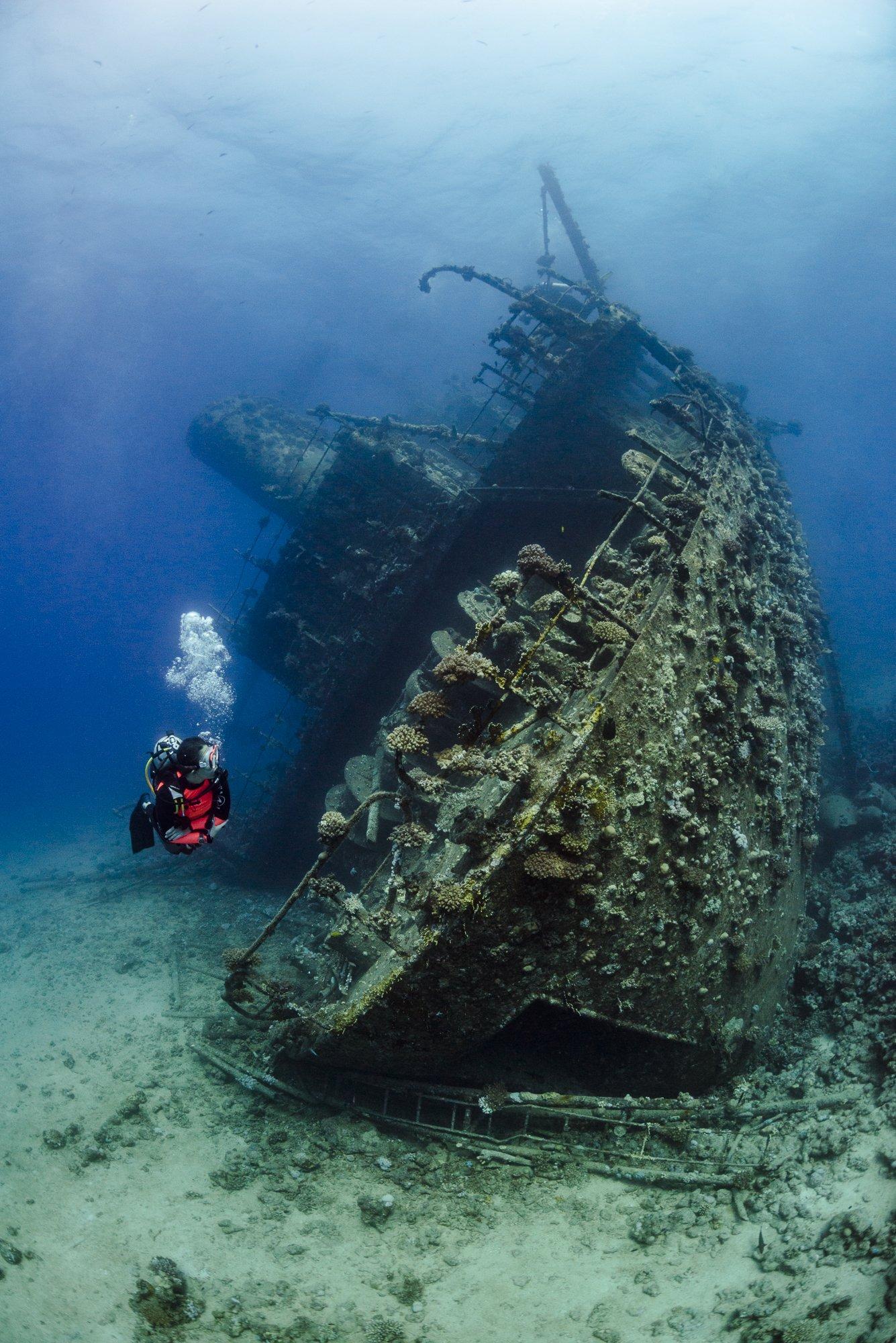 underwater, wreck, underwater photography, Giannis D, Red Sea, nadeika