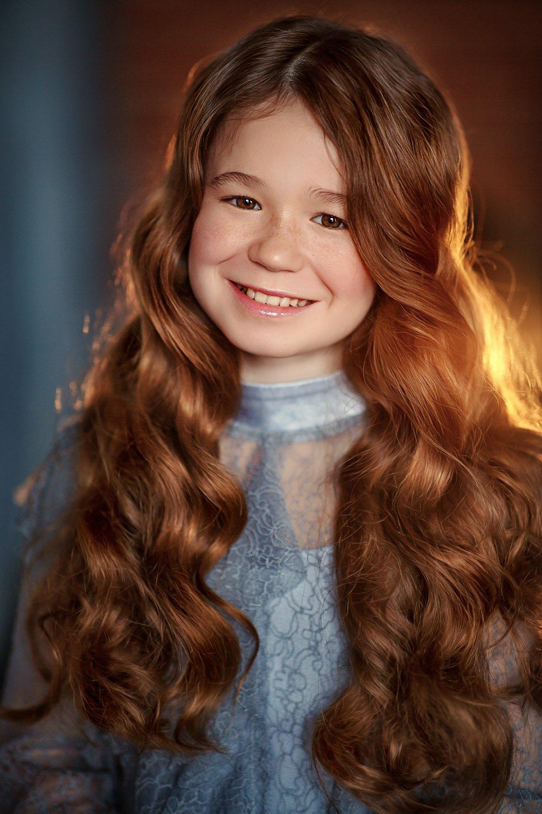 девочка портрет рыжеволосая ginger, Полковникова Катерина