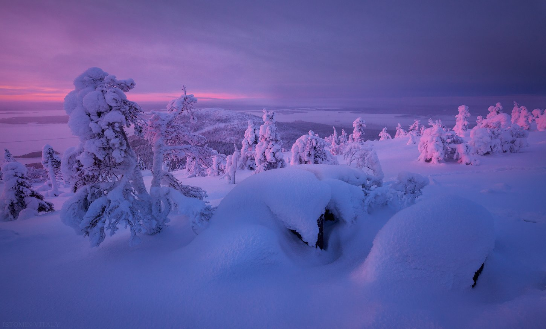пейзаж,кандалакша,зима,рассвет,россия,кольский,север,горы,снег, Истомин Виталий